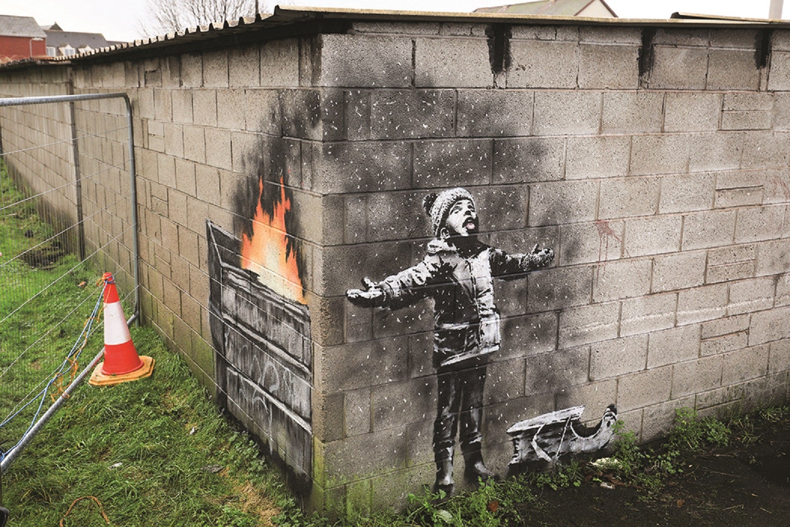 How to get a Banksy off the wall