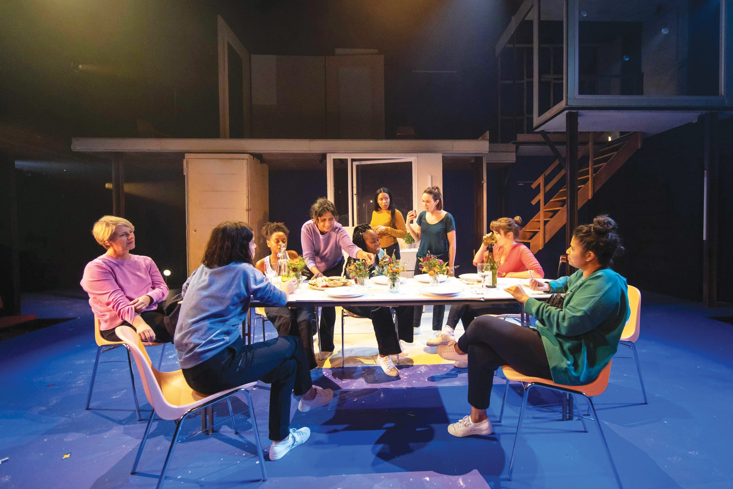 Donmar Warehouse's [BLANK] skewers middle-class feminist benevolence