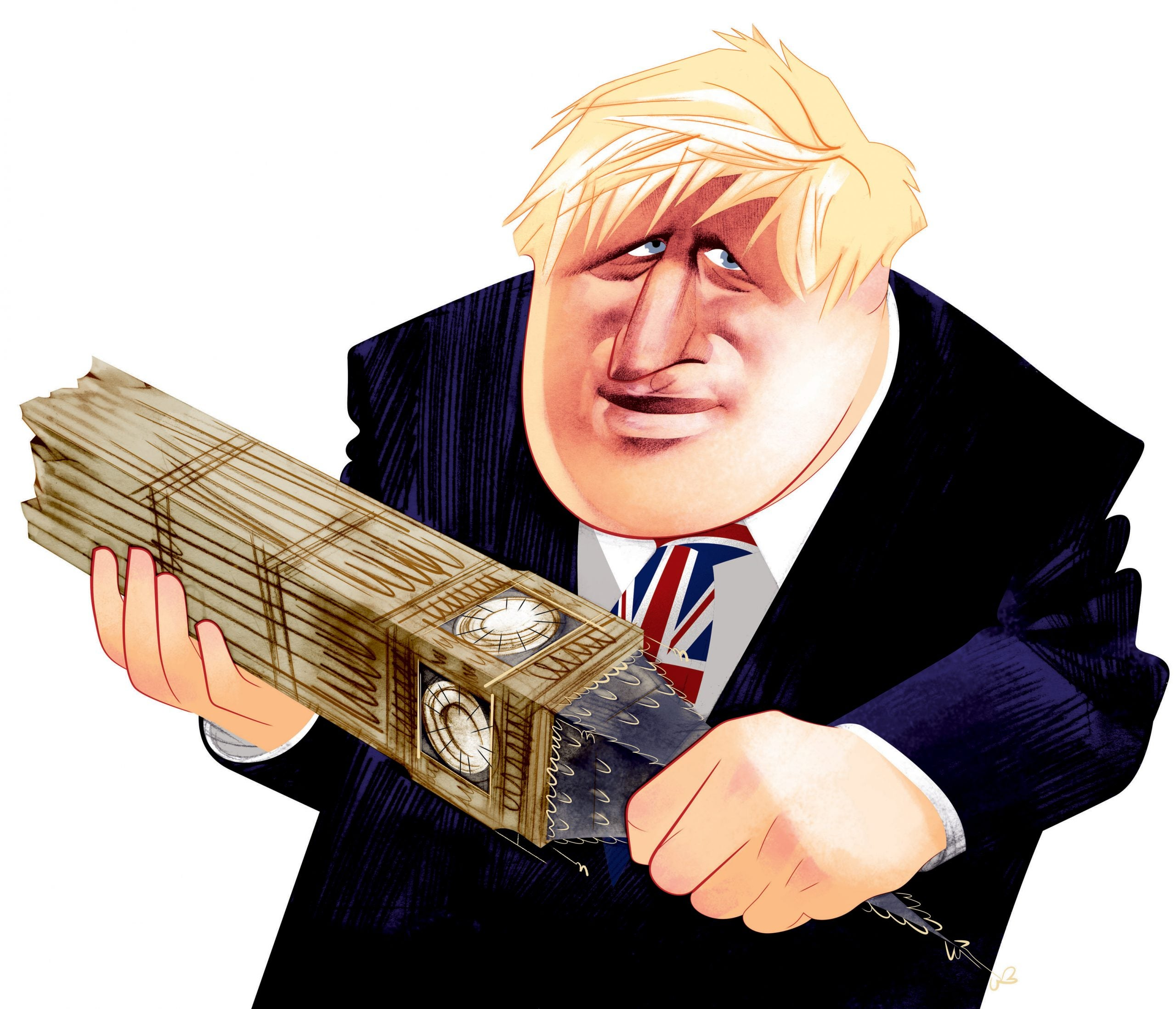 Boris Johnson is a pagan whose singular character and embrace of risk sets him apart from his caste
