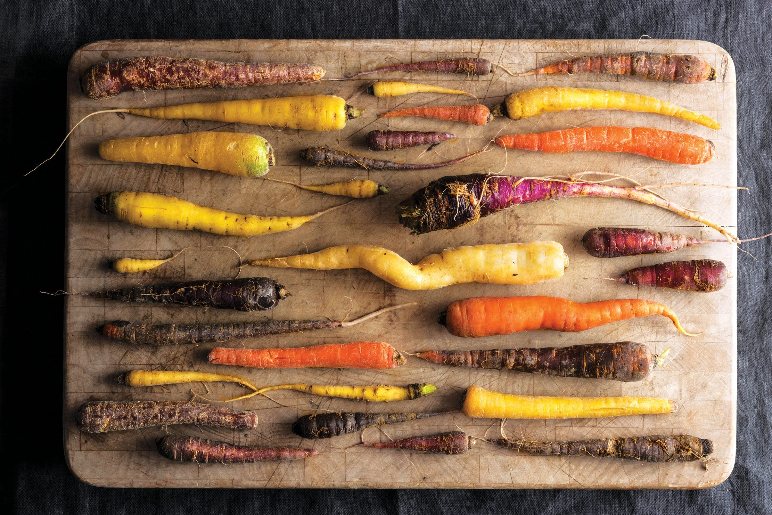 From Rainbow Carrots to Burpees Golden: the best vegetables to grow in 2020