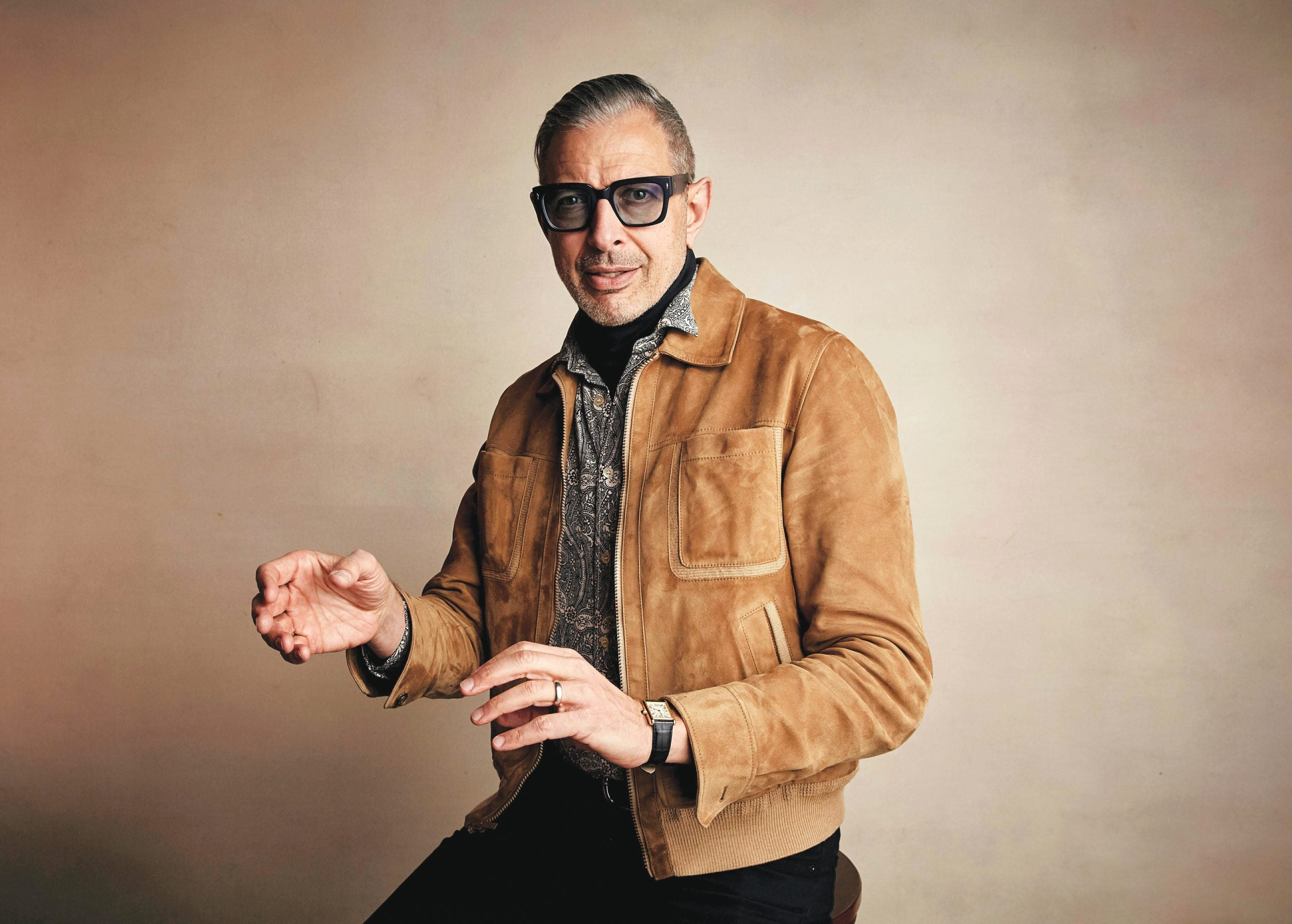 A day in the life of Jeff Goldblum
