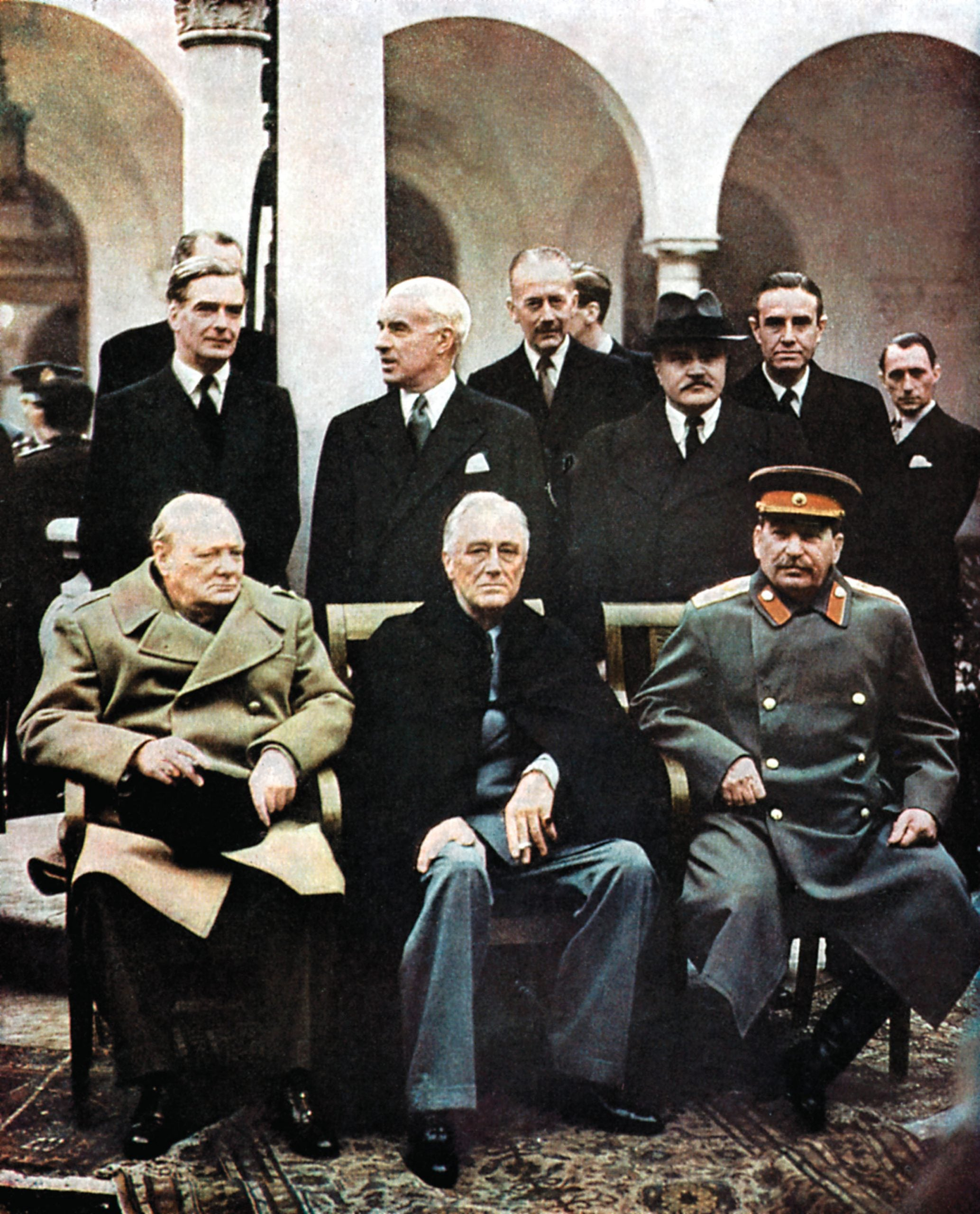 Between toughness and talking: 75 years since Yalta