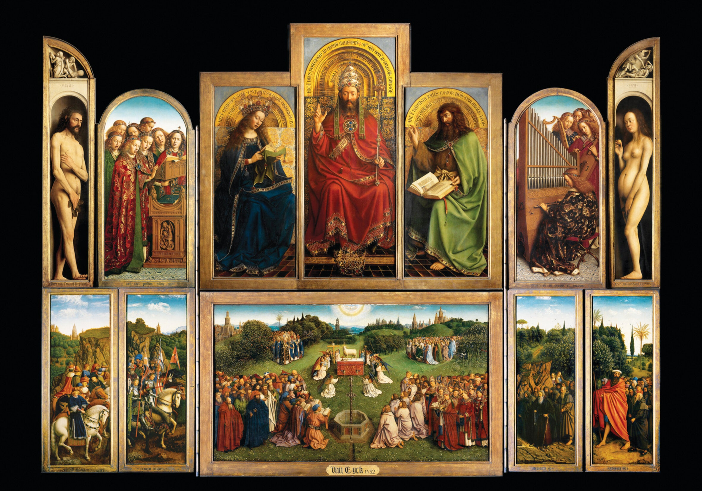 Van Eyck's Ghent Altarpiece and the many thefts of a masterpiece