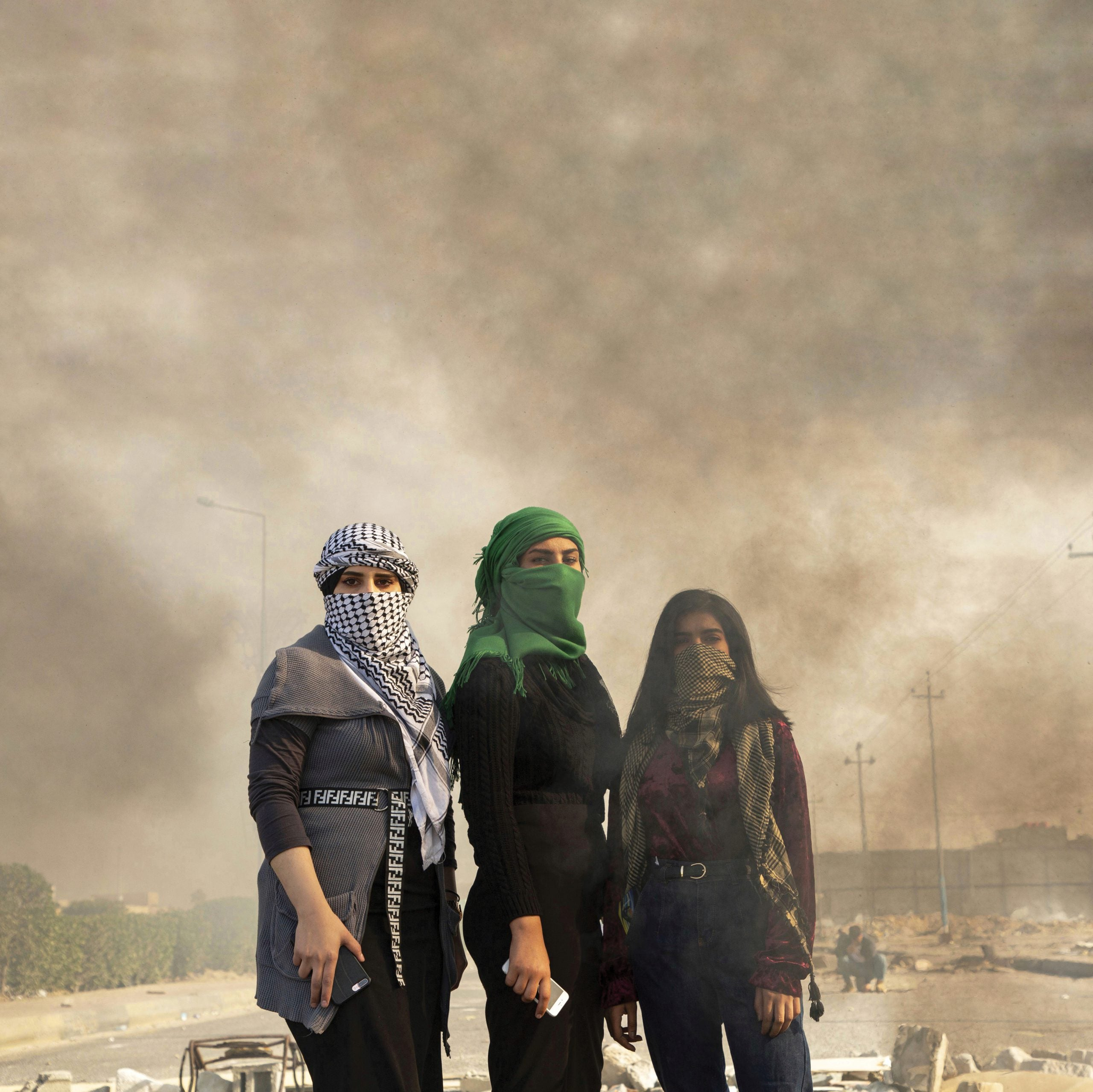 The young Iraqis fighting for a modern, independent nation