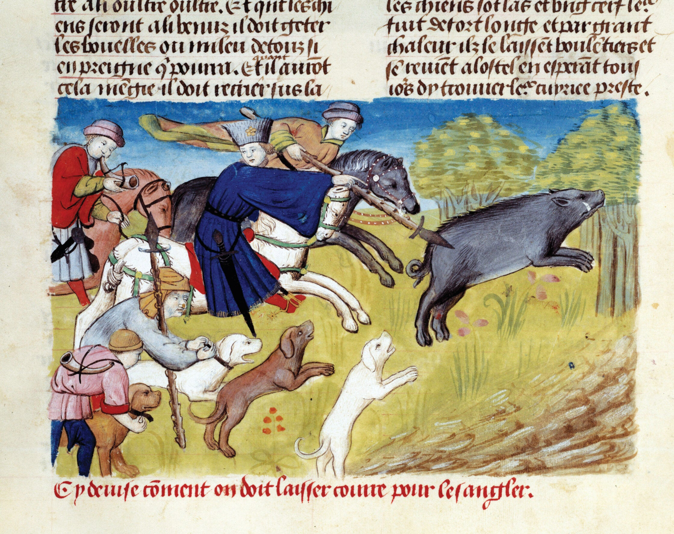Hunting now provokes revulsion – but in medieval Europe it had very different social connotations