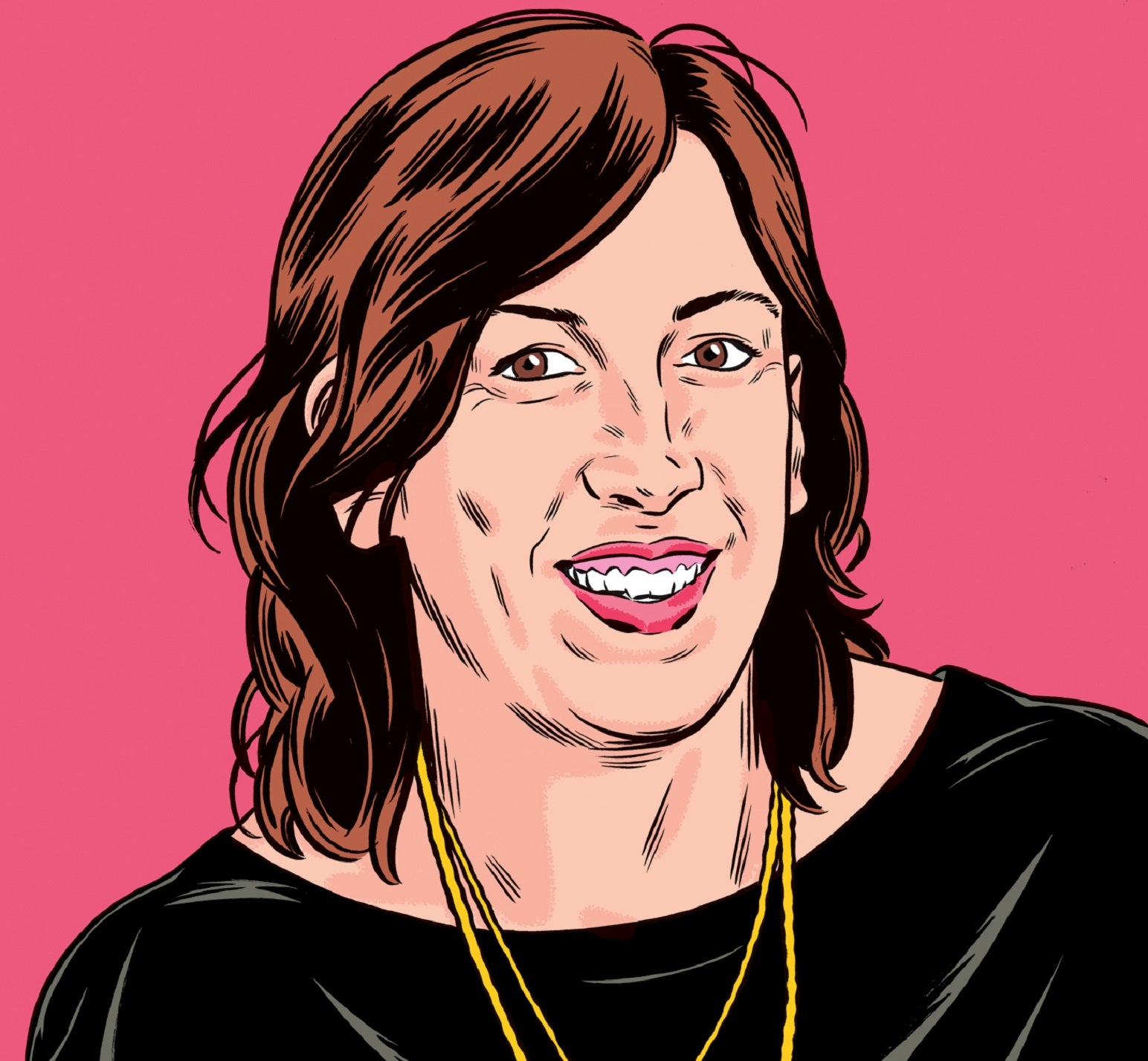 """Miranda Hart Q&A: """"My earliest memory? Standing face-to-face with a goose"""""""