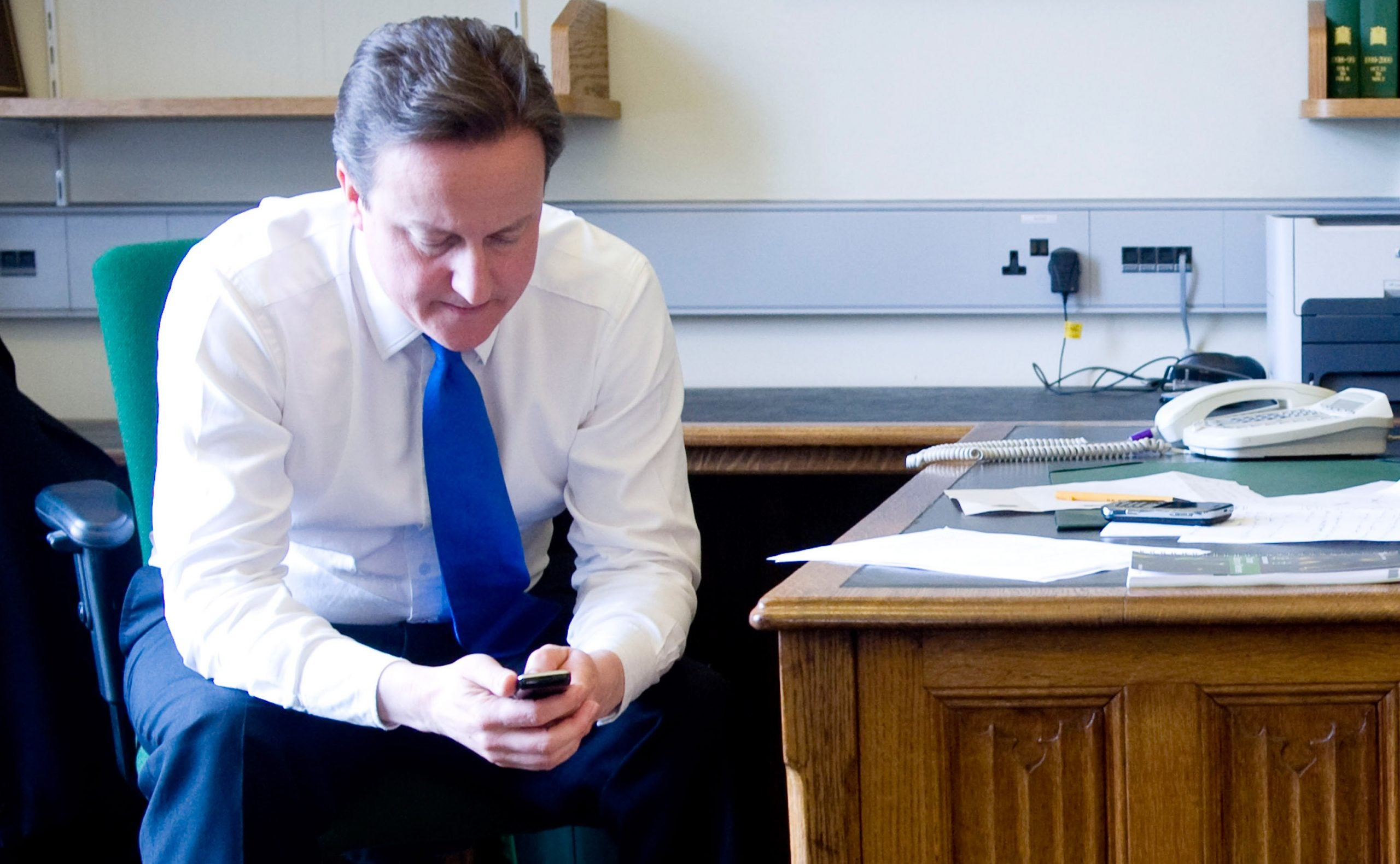Commons Confidential: Dodgy Dave's huffy moment