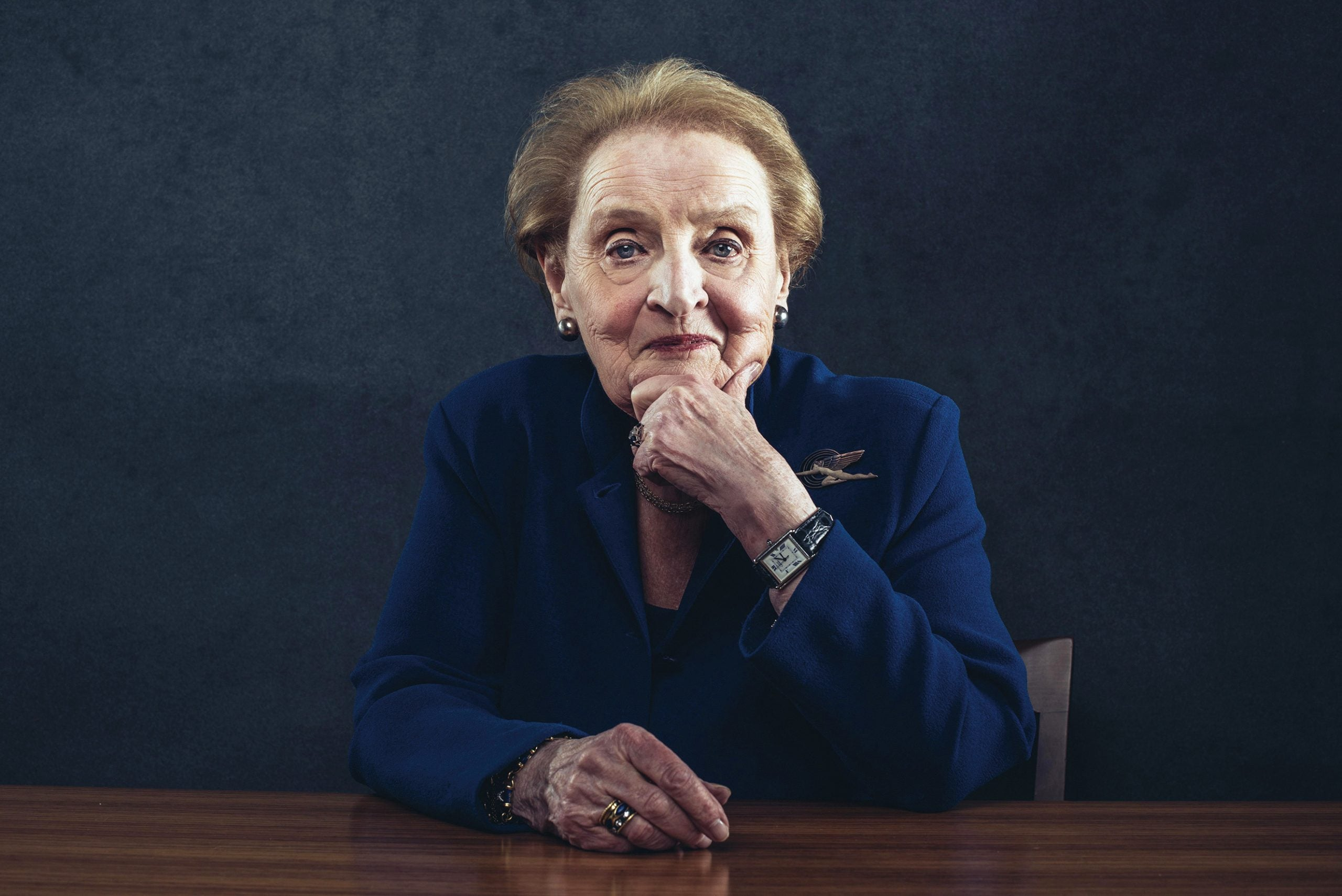 """Madeleine Albright: """"The US cannot solve the crisis by itself"""""""