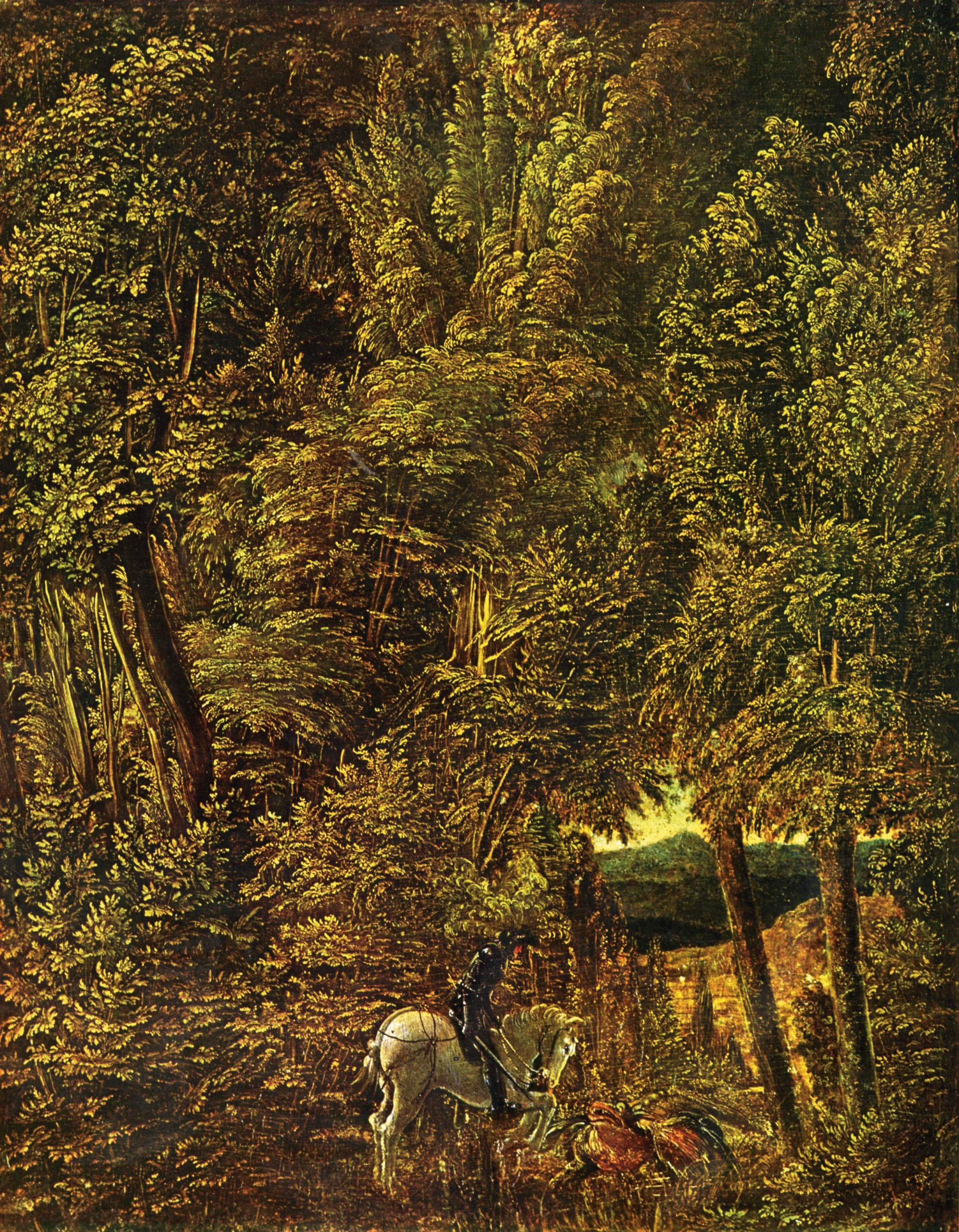 The greats outdoors: Albrecht Altdorfer's St George and the Dragon