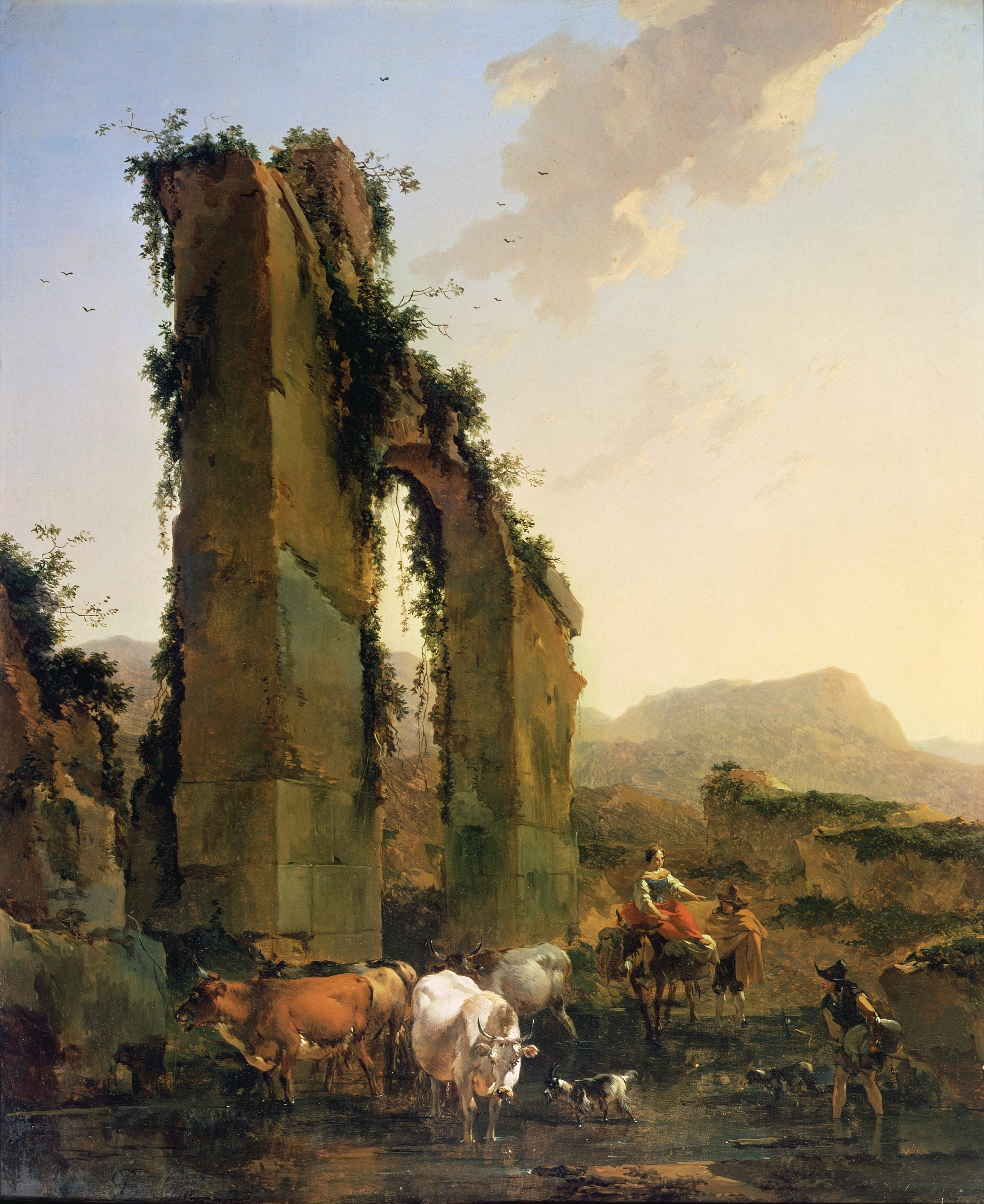 The greats outdoors: How Nicolaes Berchem offered vistas of a golden Arcadia