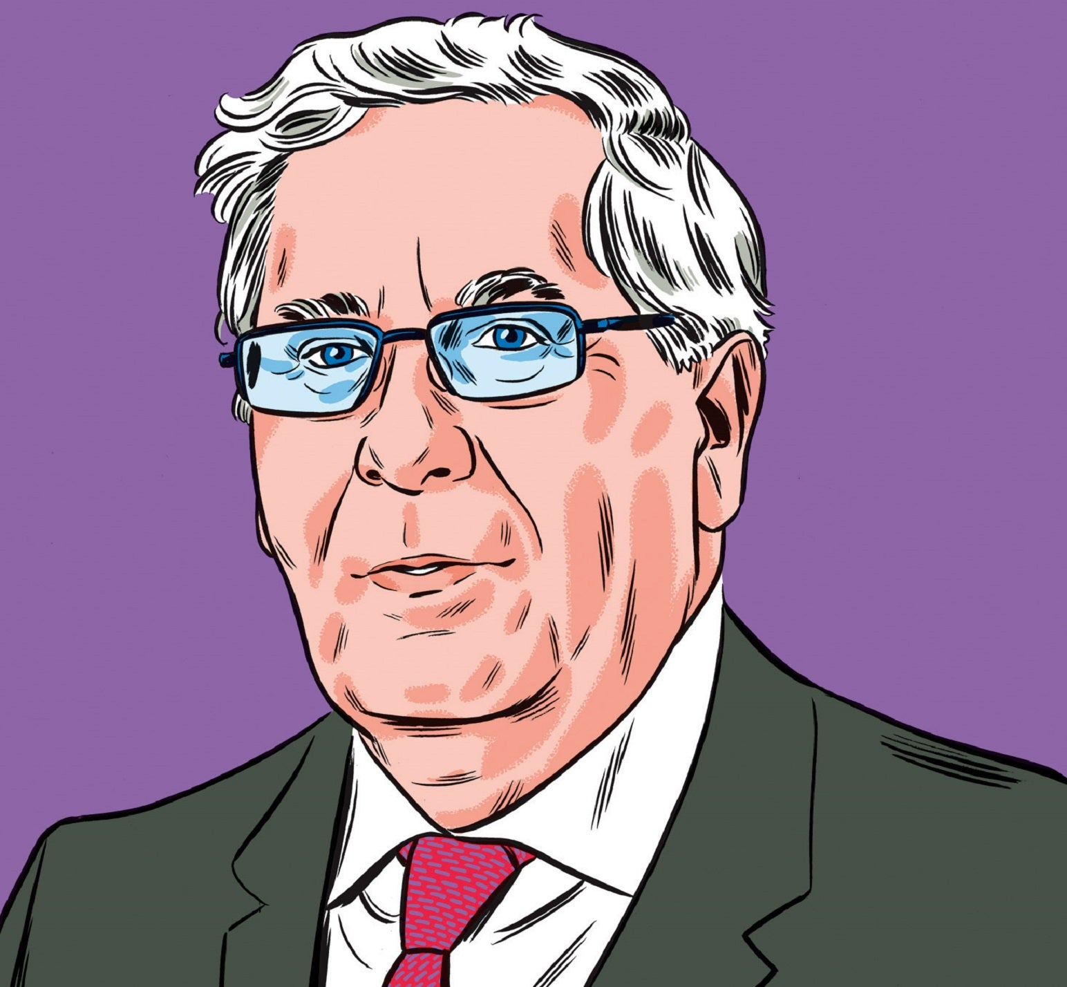 """Mervyn King Q&A: """"I'd love to conduct an orchestra: everyone would call me maestro"""""""