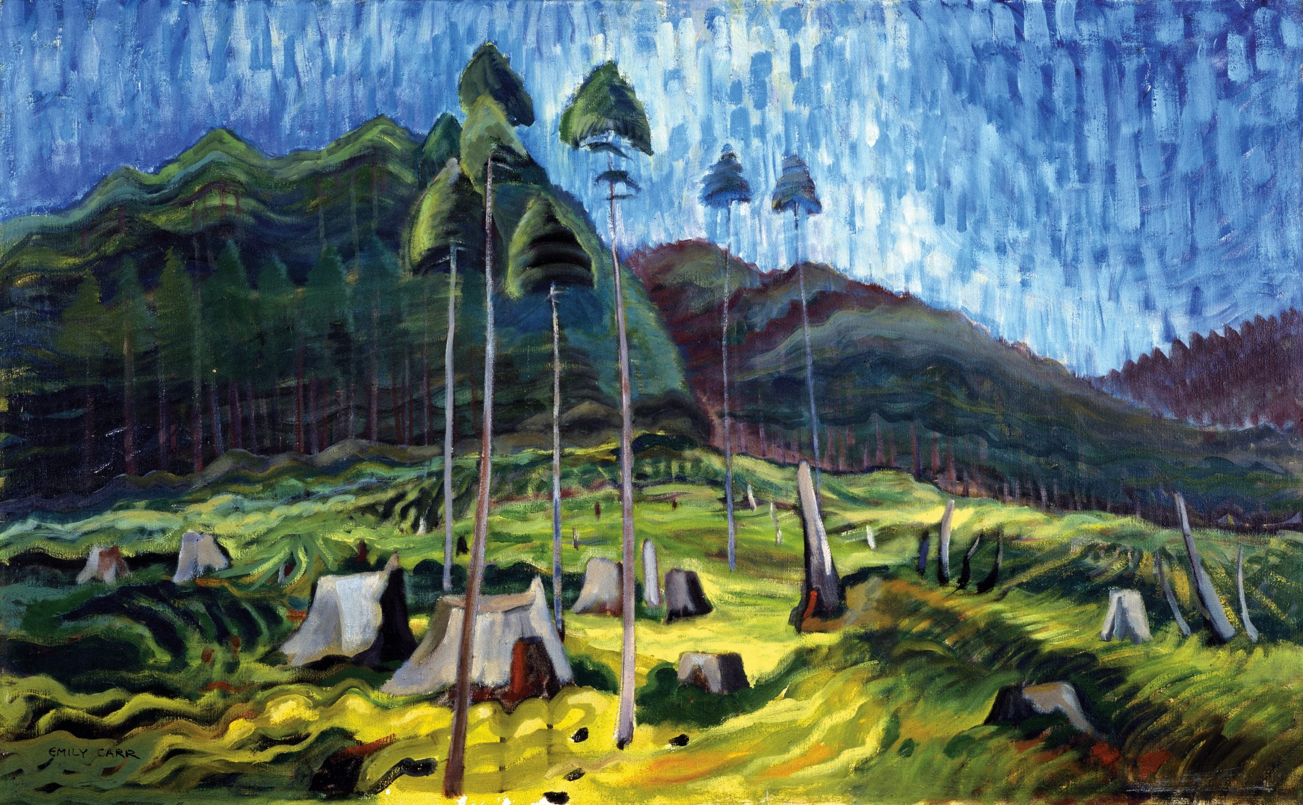The greats outdoors: Emily Carr's modernist landscapes