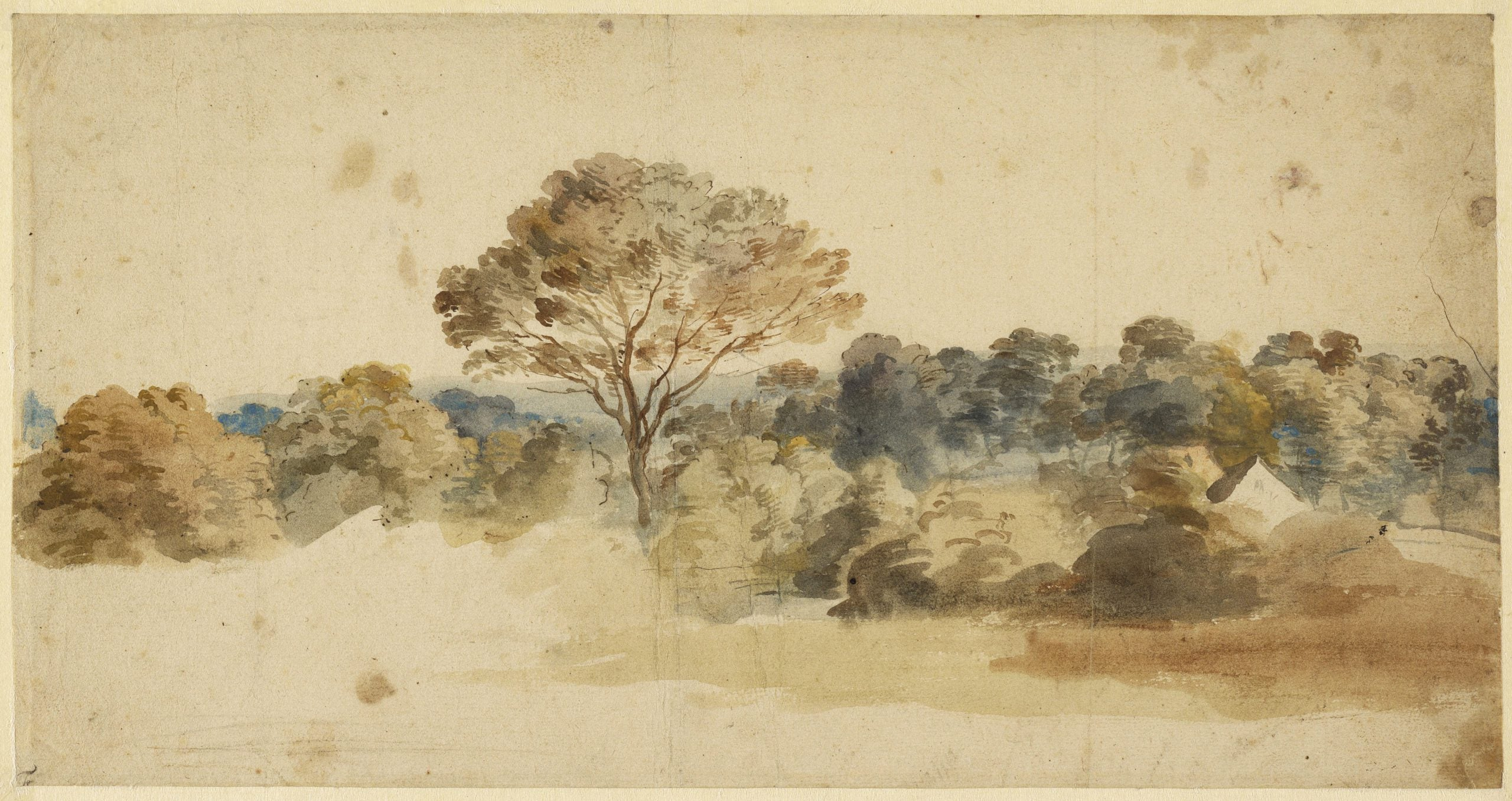 The greats outdoors: Van Dyck's bucolic backgrounds