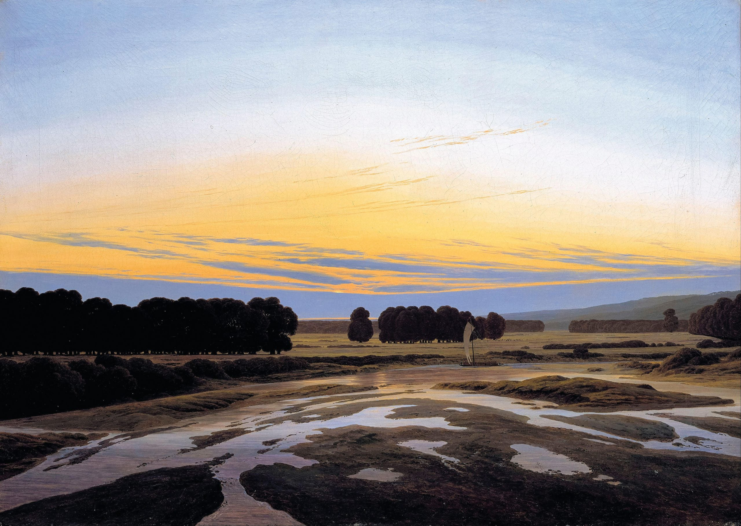 The greats outdoors: how Caspar David Friedrich searched the German landscape for reflections of his soul