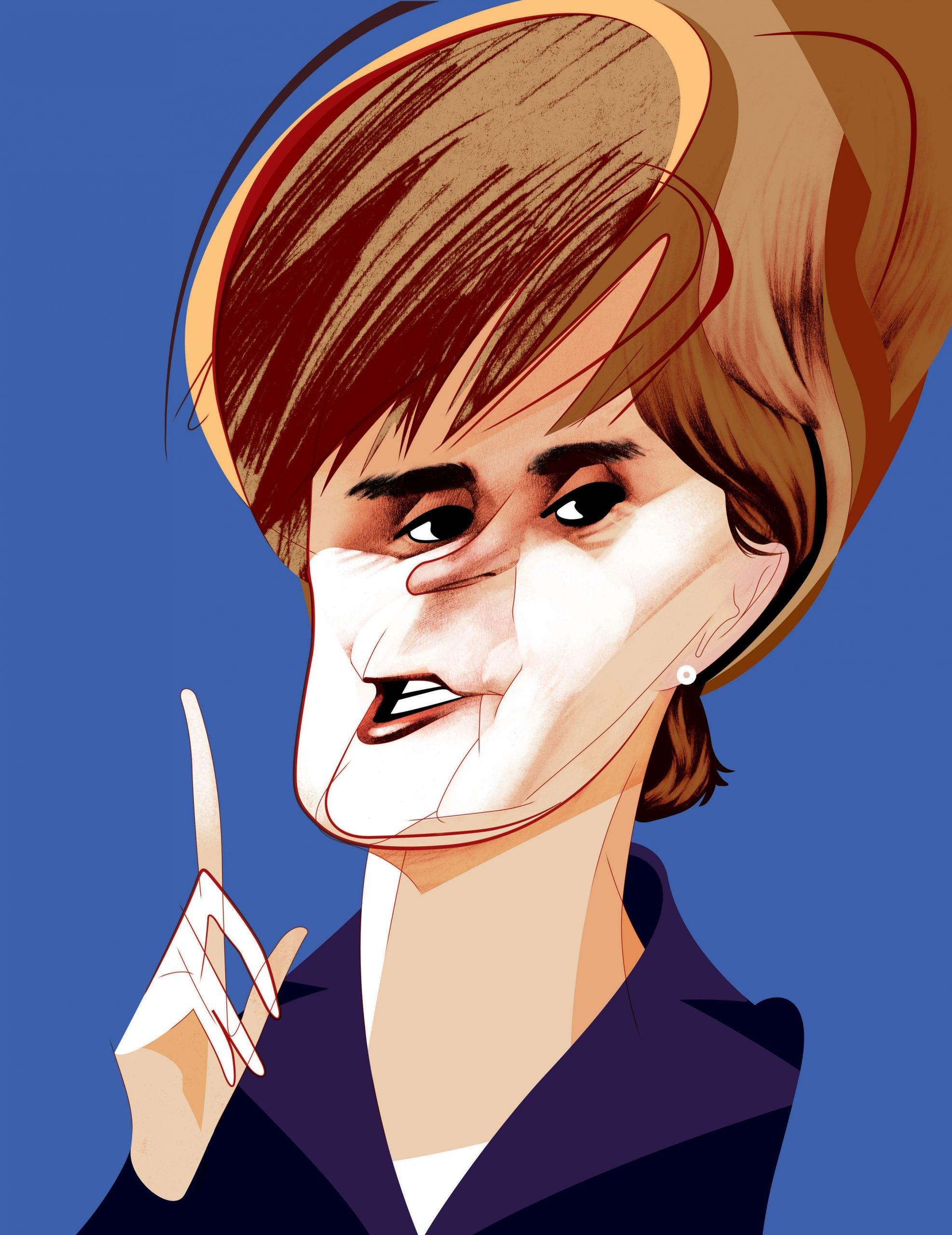 Nicola Sturgeon: Britain's most powerful woman