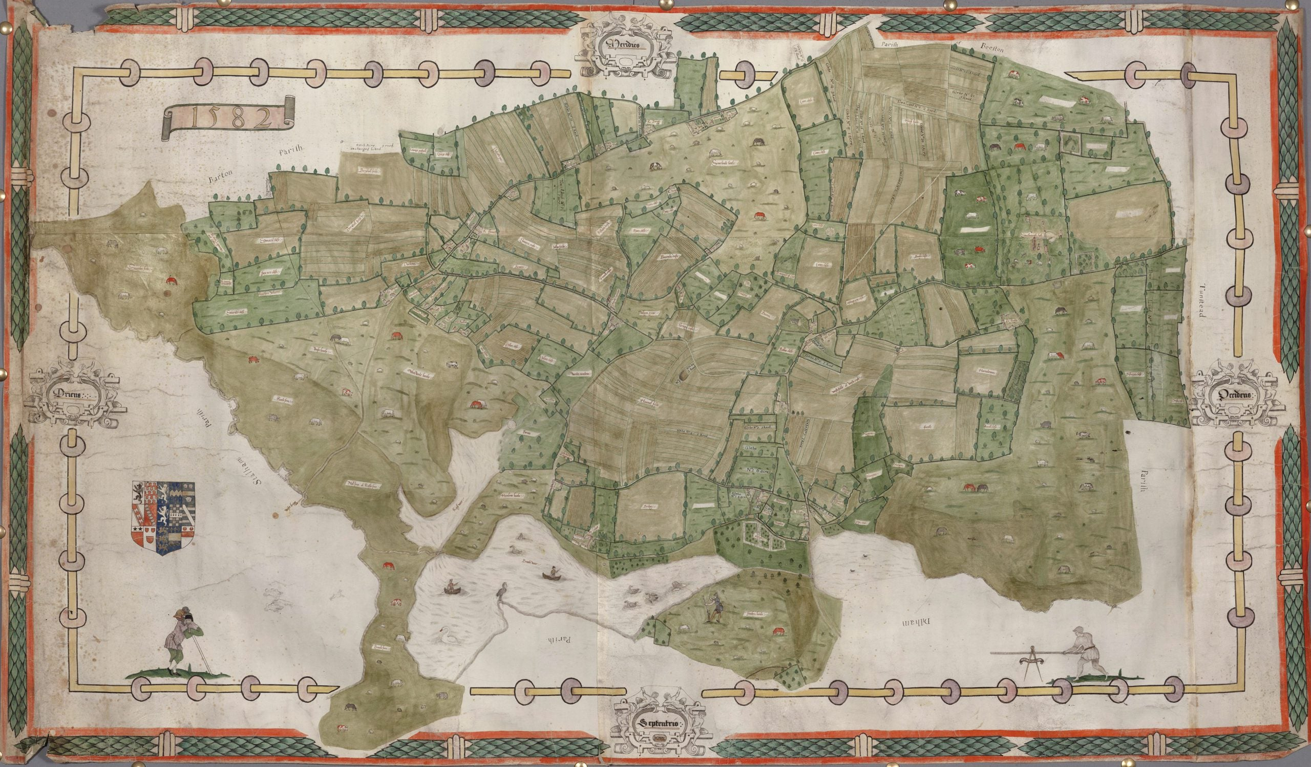 The greats outdoors: How estate maps shaped landscape painting