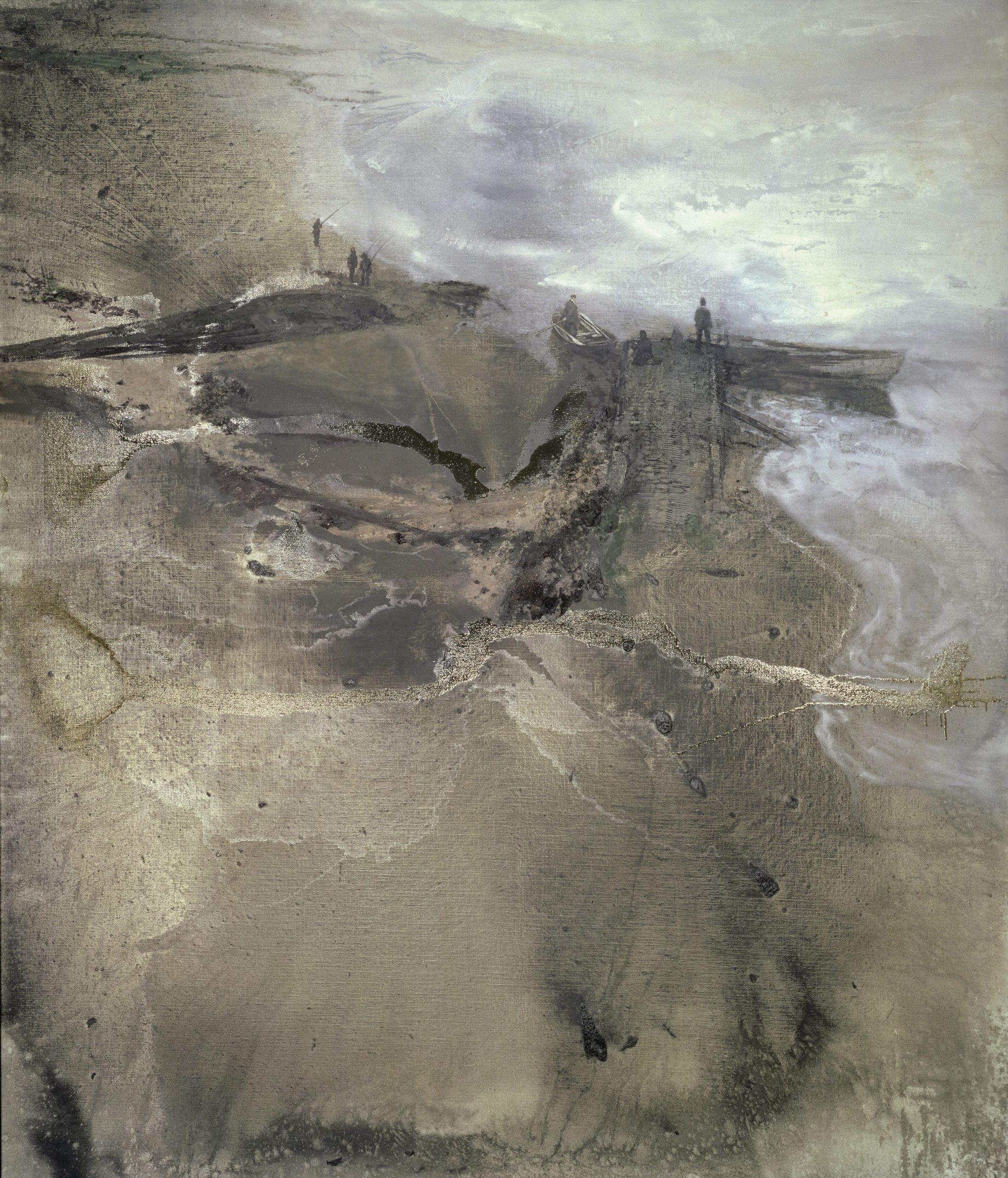 The greats outdoors: Michael Andrews' valedictory Thames paintings