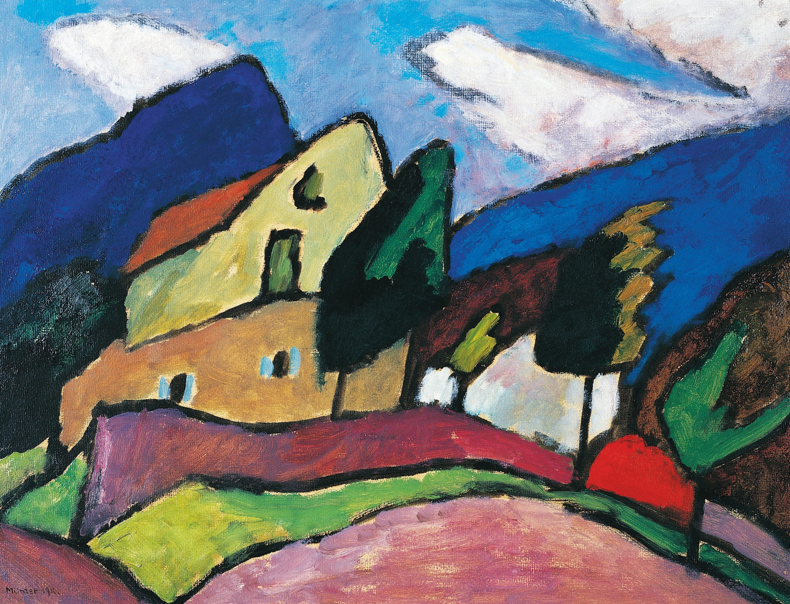 """How Gabriele Münter painted """"the content of things"""""""