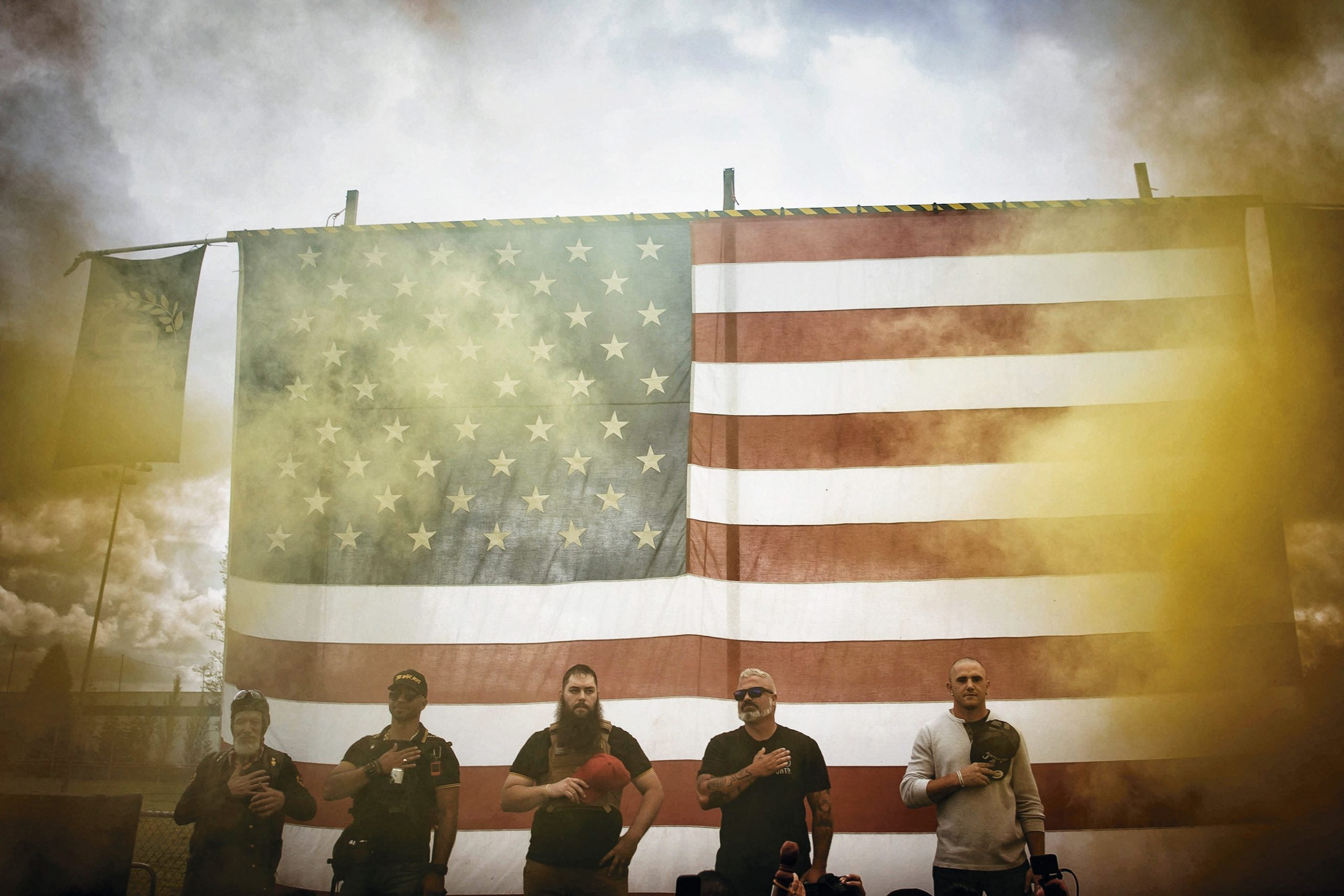 The rise of the Proud Boys in the US