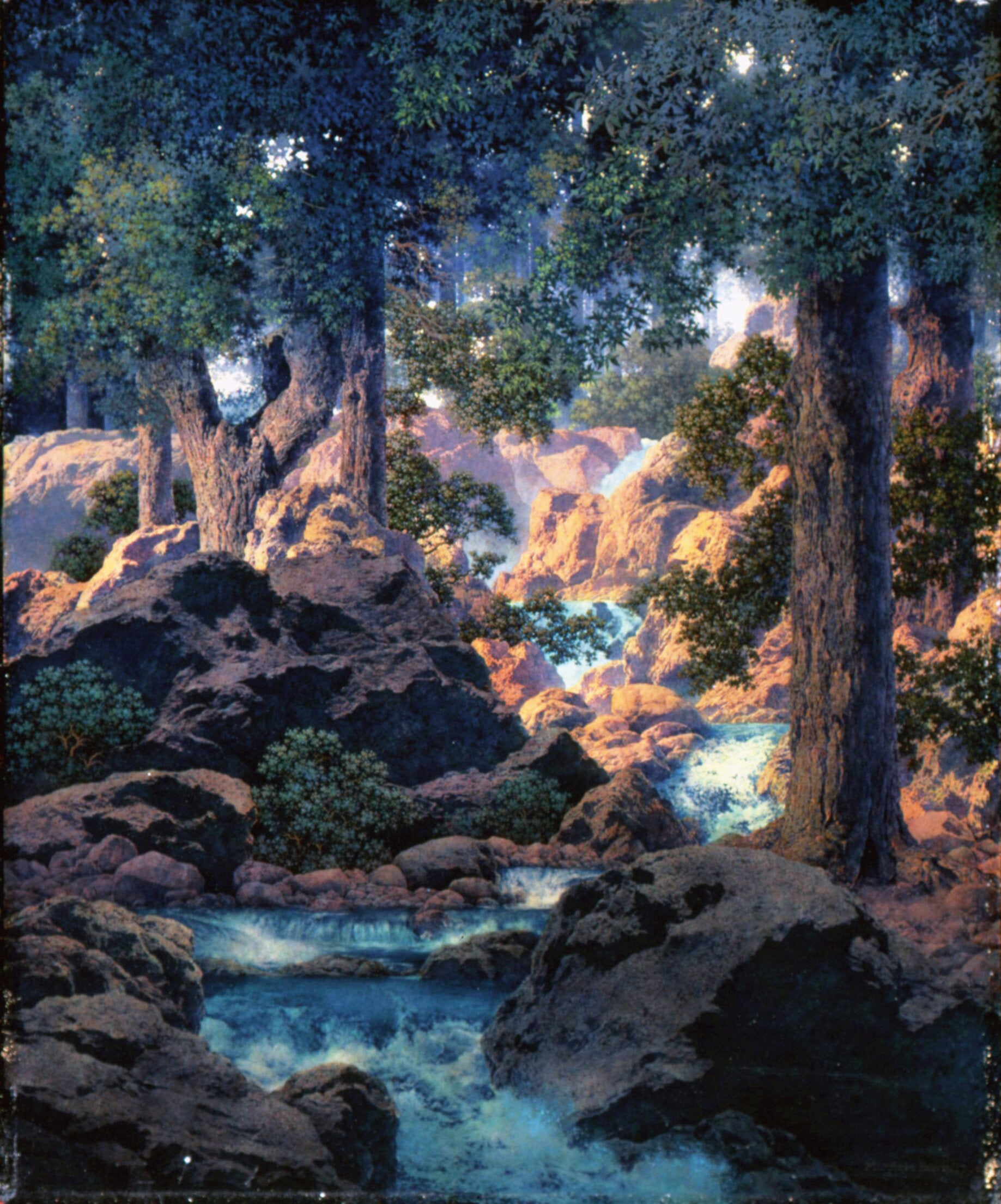 The dreamscapes of Maxfield Parrish