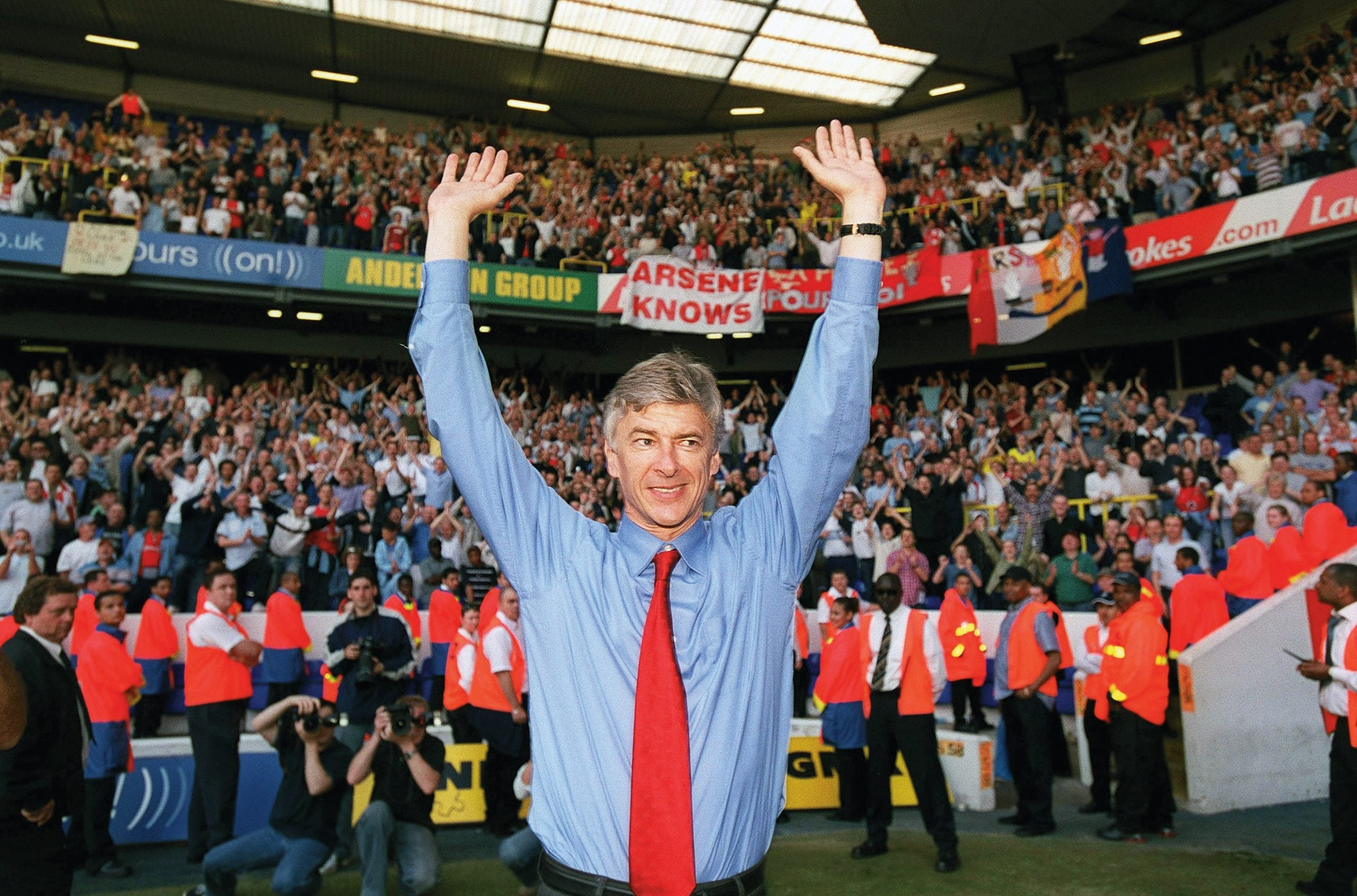 The rise and resolve of Arsène Wenger