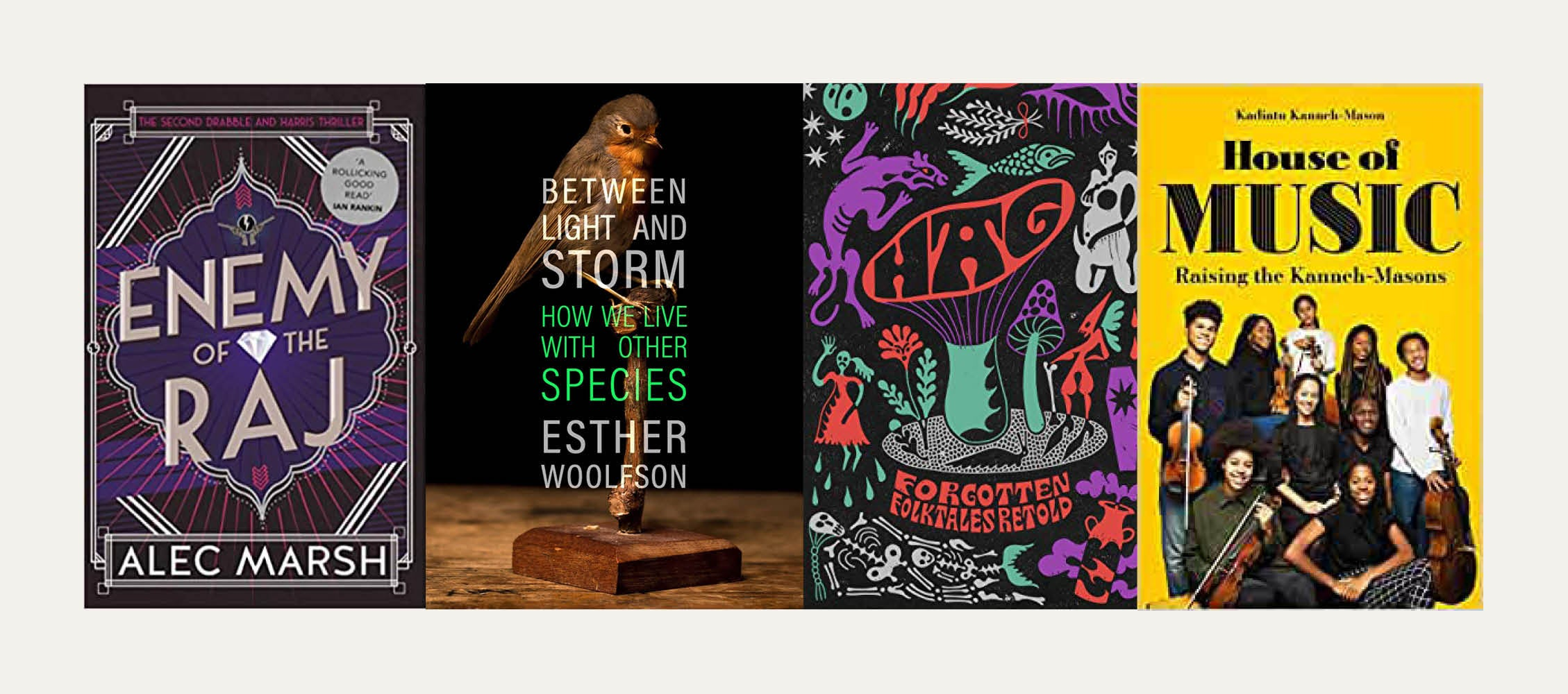 NS Recommends: New books from Alec Marsh, Kadiatu Kanneh-Mason and Esther Woolfson