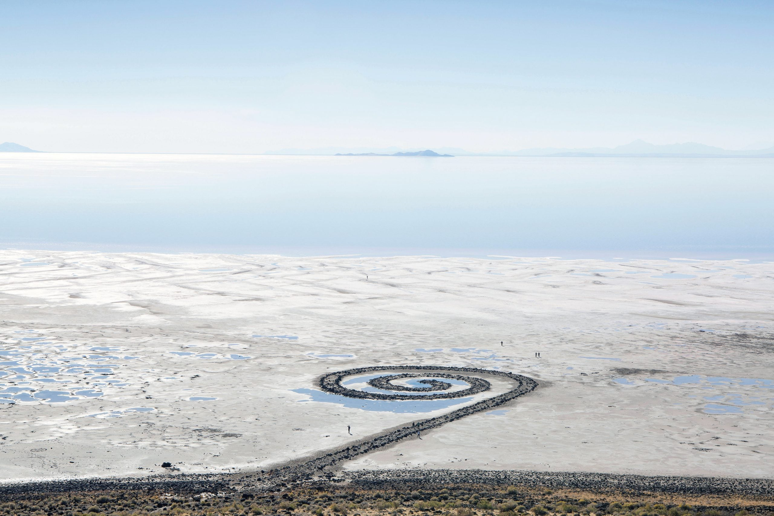 How Robert Smithson made art out of the landscape itself