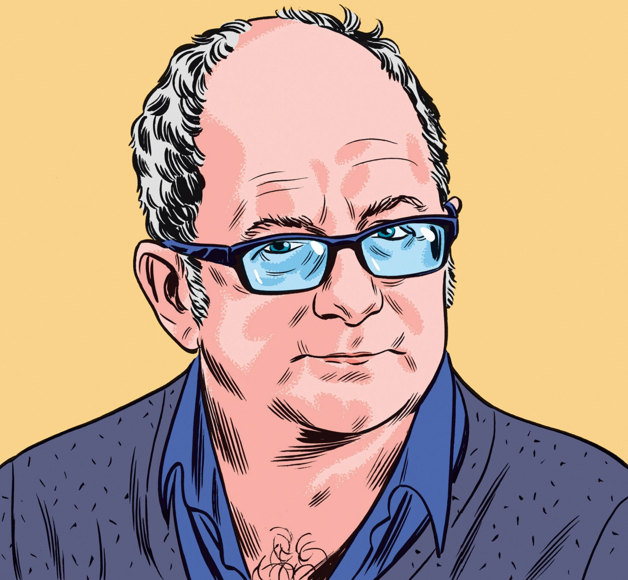 """John Lanchester Q&A: """"I'd like to be the kind of rich person who doesn't do much"""""""