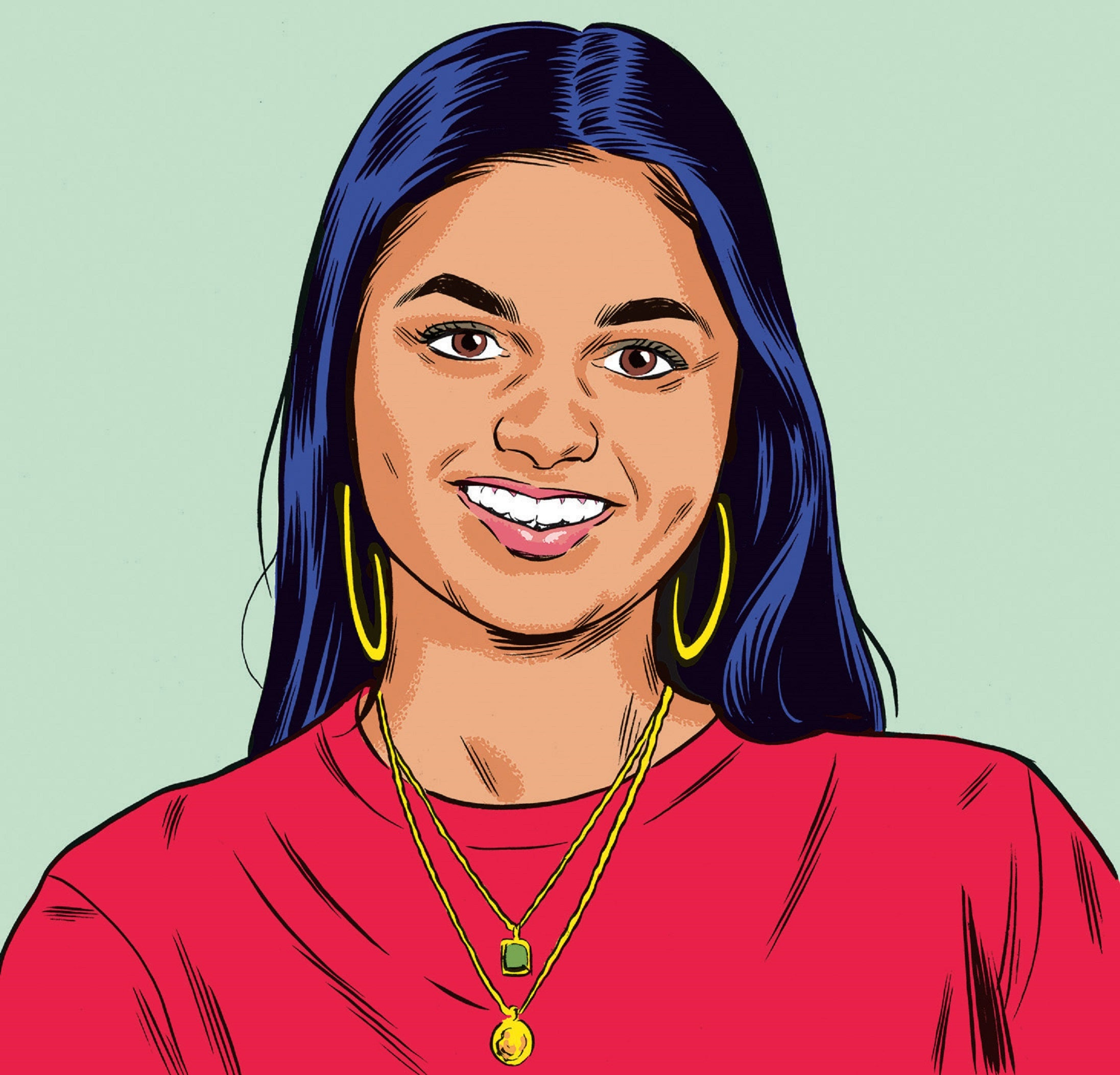 """Amika George Q&A: """"I need to work out what job to have in this lifetime first"""""""