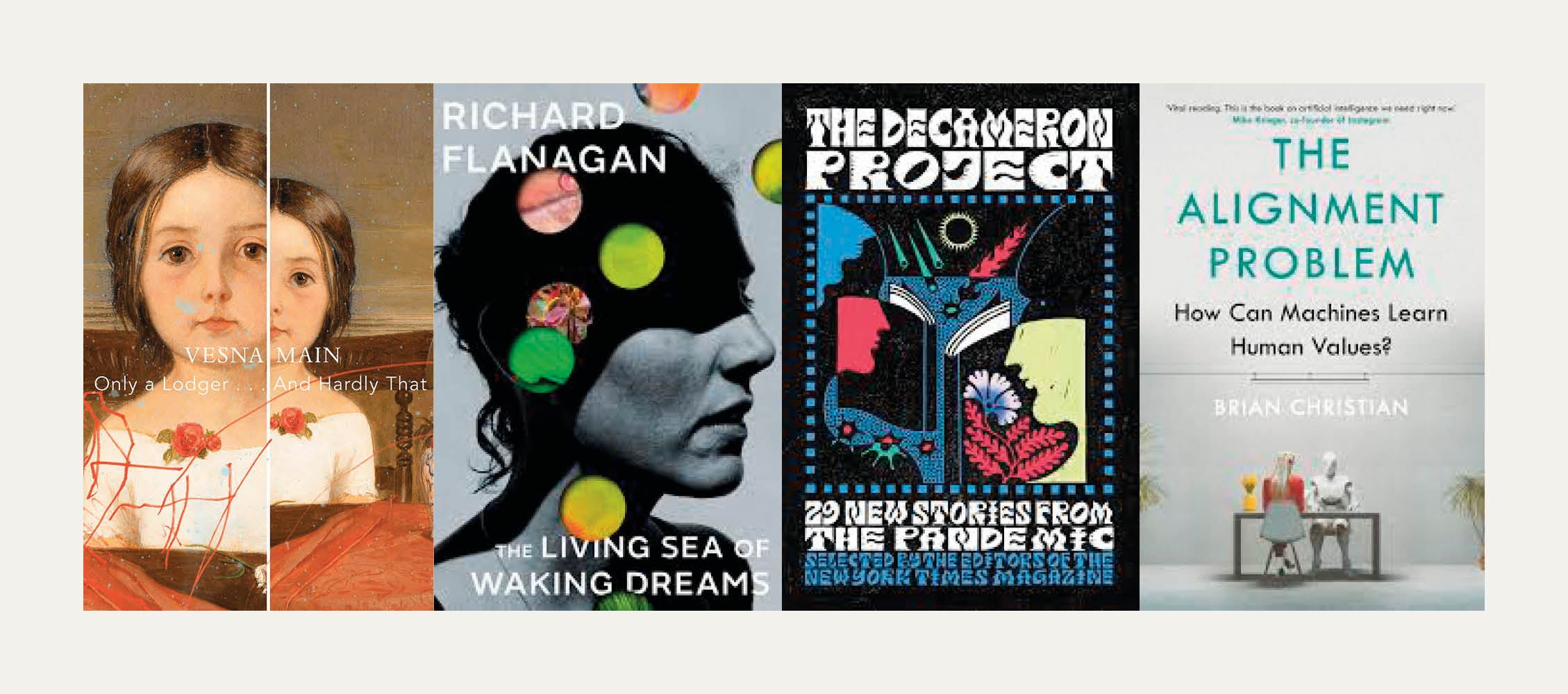 NS Recommends: New books from Richard Flanagan, Brian Christian and Vesna Main