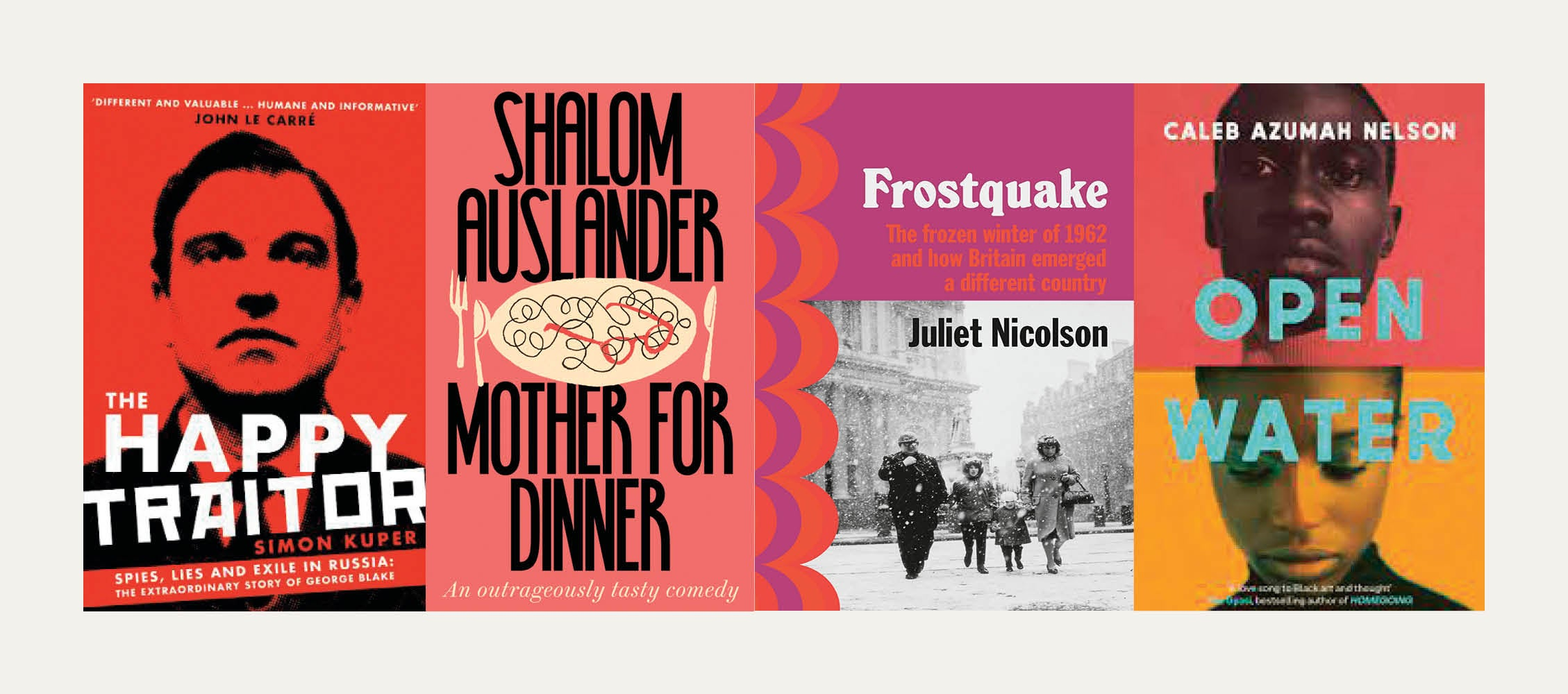 NS Recommends: New books from Juliet Nicolson, Shalom Auslander, Simon Kuper and Caleb Azumah Nelson