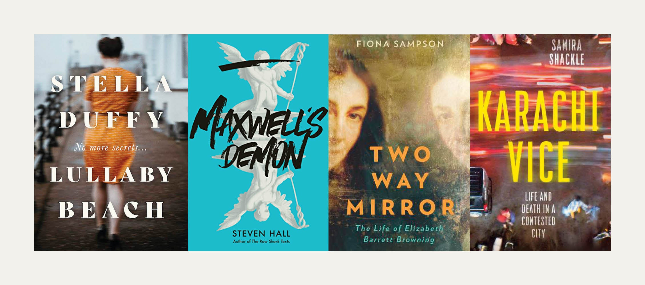 NS Recommends: New books from Fiona Sampson, Samira Shackle, Stella Duffy and Steven Hall