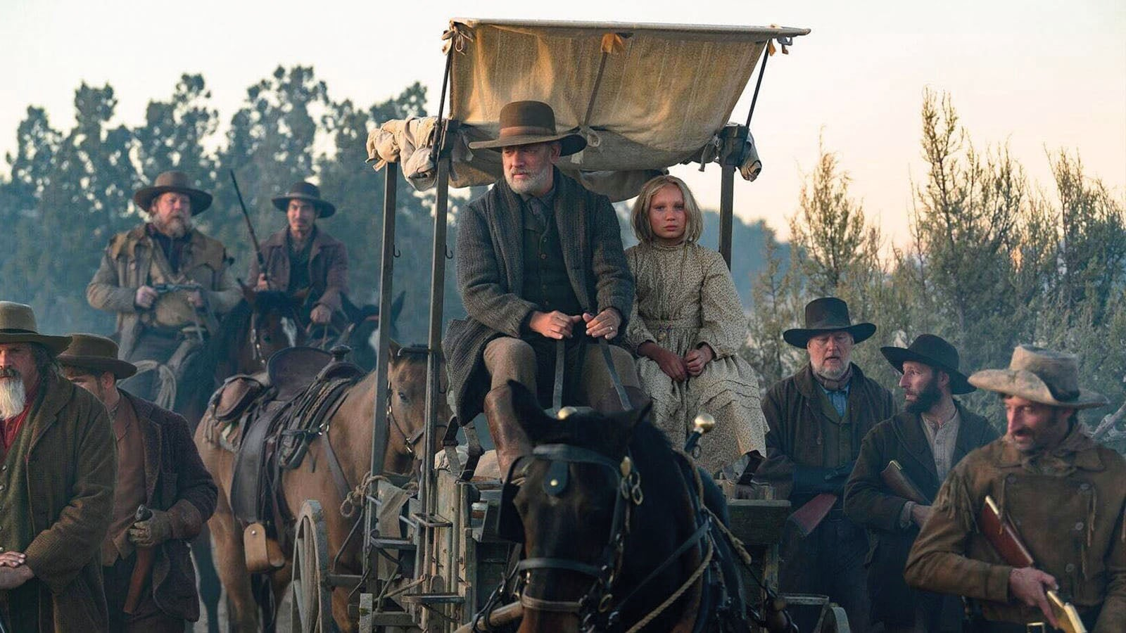 Tom Hanks breathes humanity into the Civil War-era Western News of the World