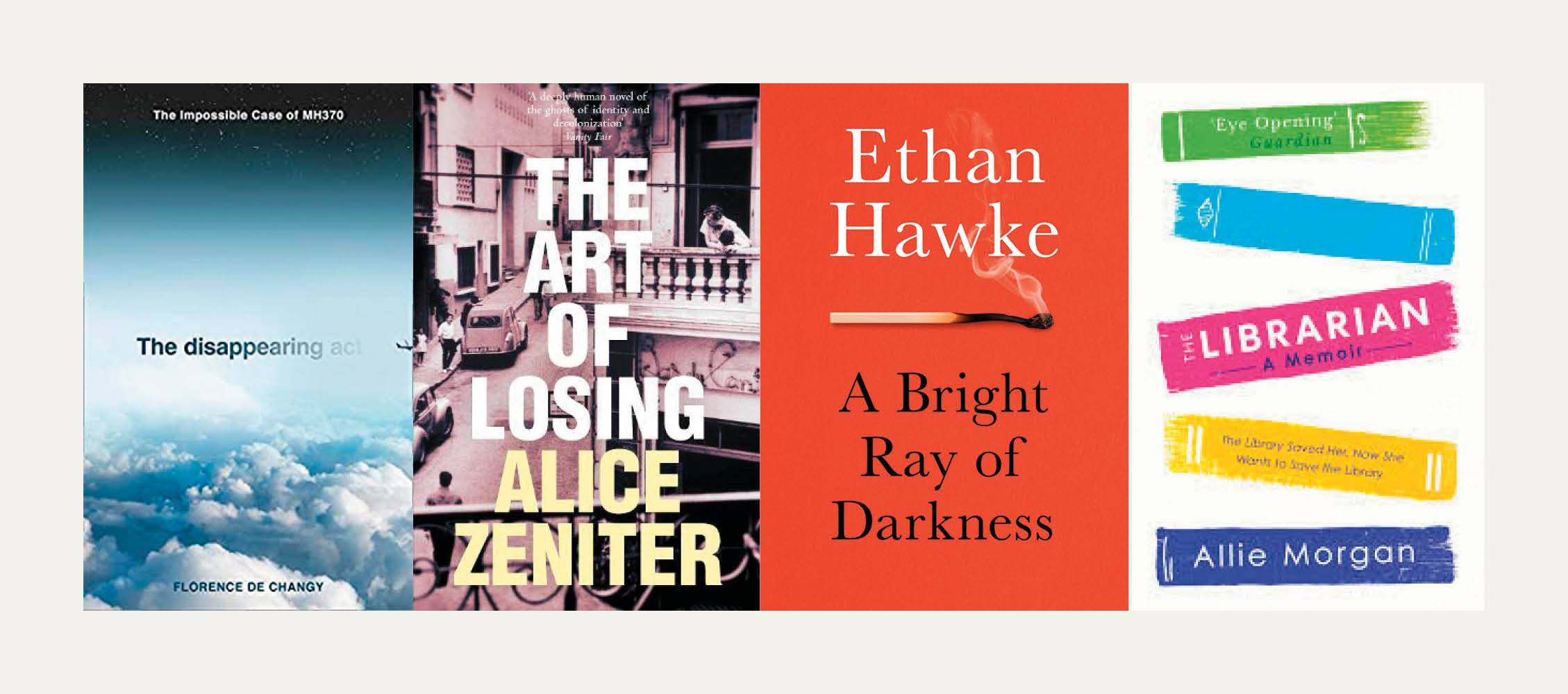 NS Recommends: New books from Florence de Changy, Allie Morgan, Ethan Hawke and Alice Zeniter
