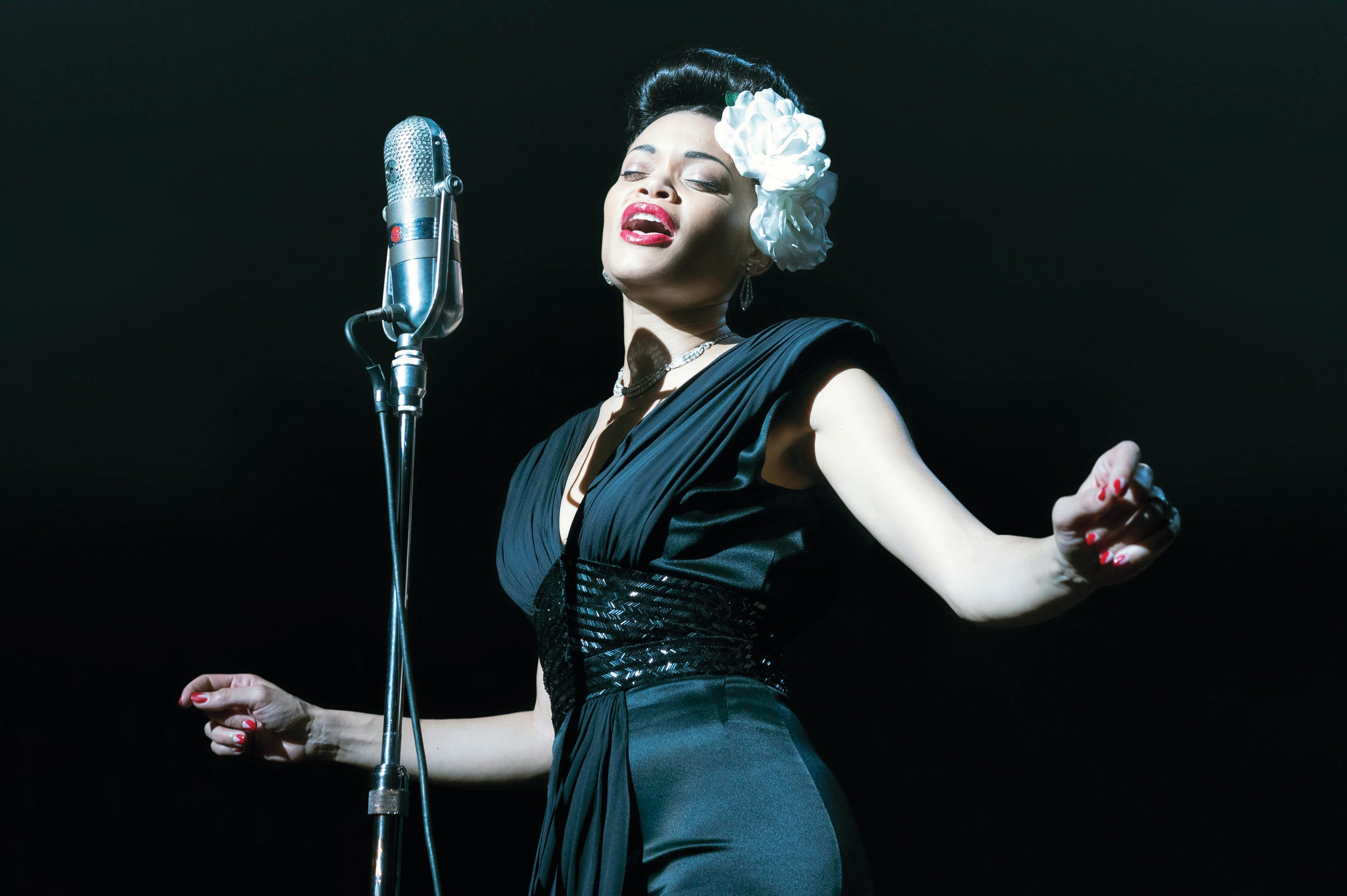 The United States vs Billie Holiday dramatises the racially motivated campaign waged against the singer