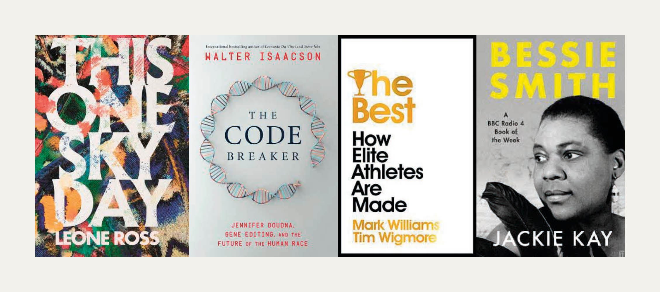 NS Recommends: New books from Mark Williams and Tim Wigmore, Jackie Kay, Leone Ross and Walter Isaacson