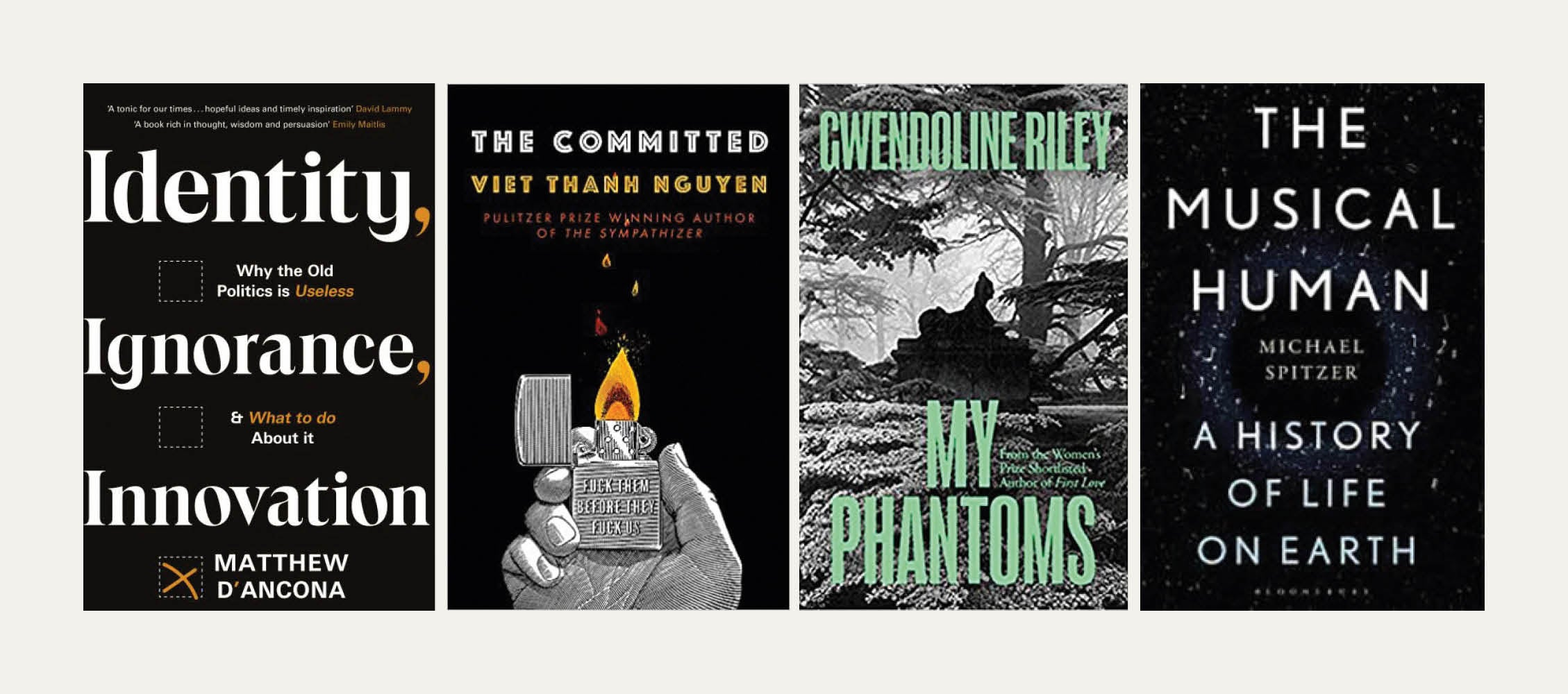 Reviewed in Short: New books by Gwendoline Riley, Viet Thanh Nguyen, Michael Spitzer and Matthew d'Ancona