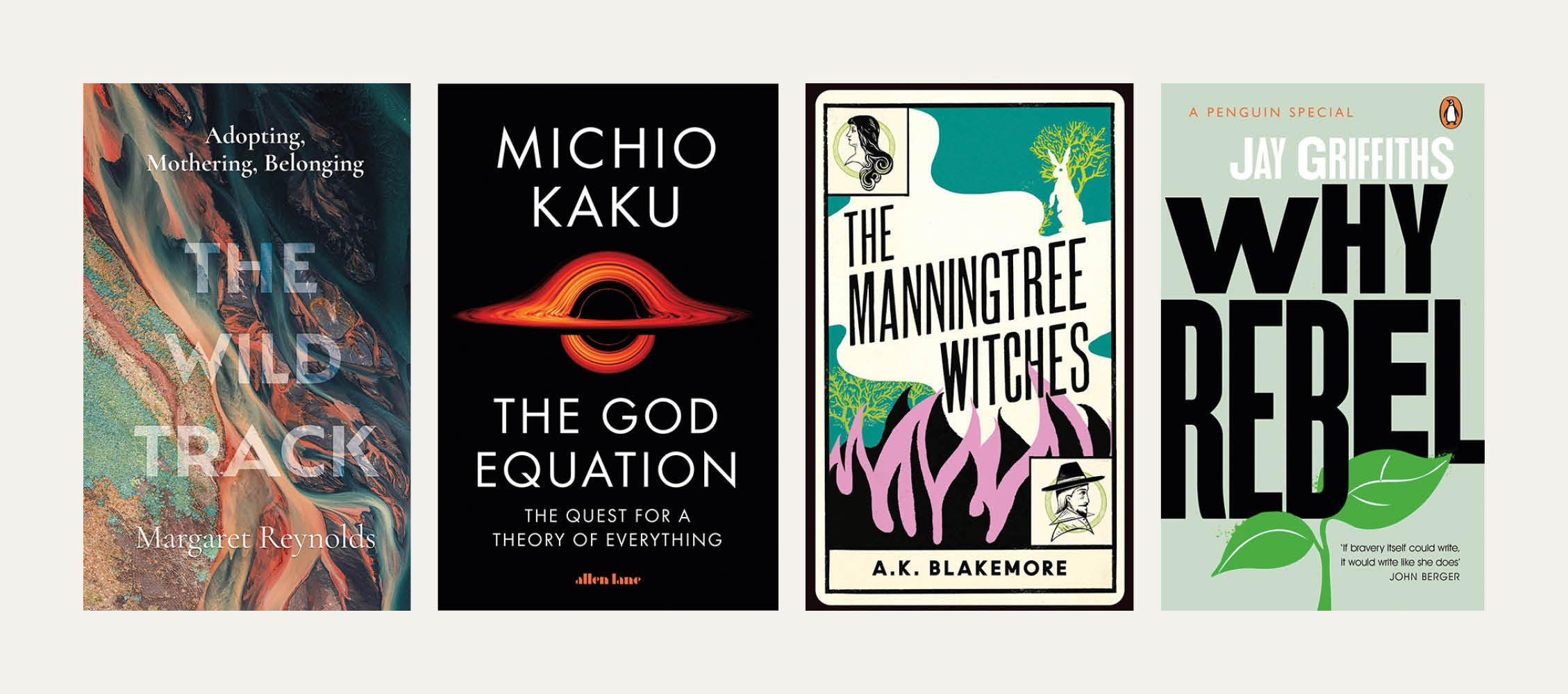 Reviewed in short: New books by Margaret Reynolds, Michio Kaku, AK Blakemore and Jay Griffiths