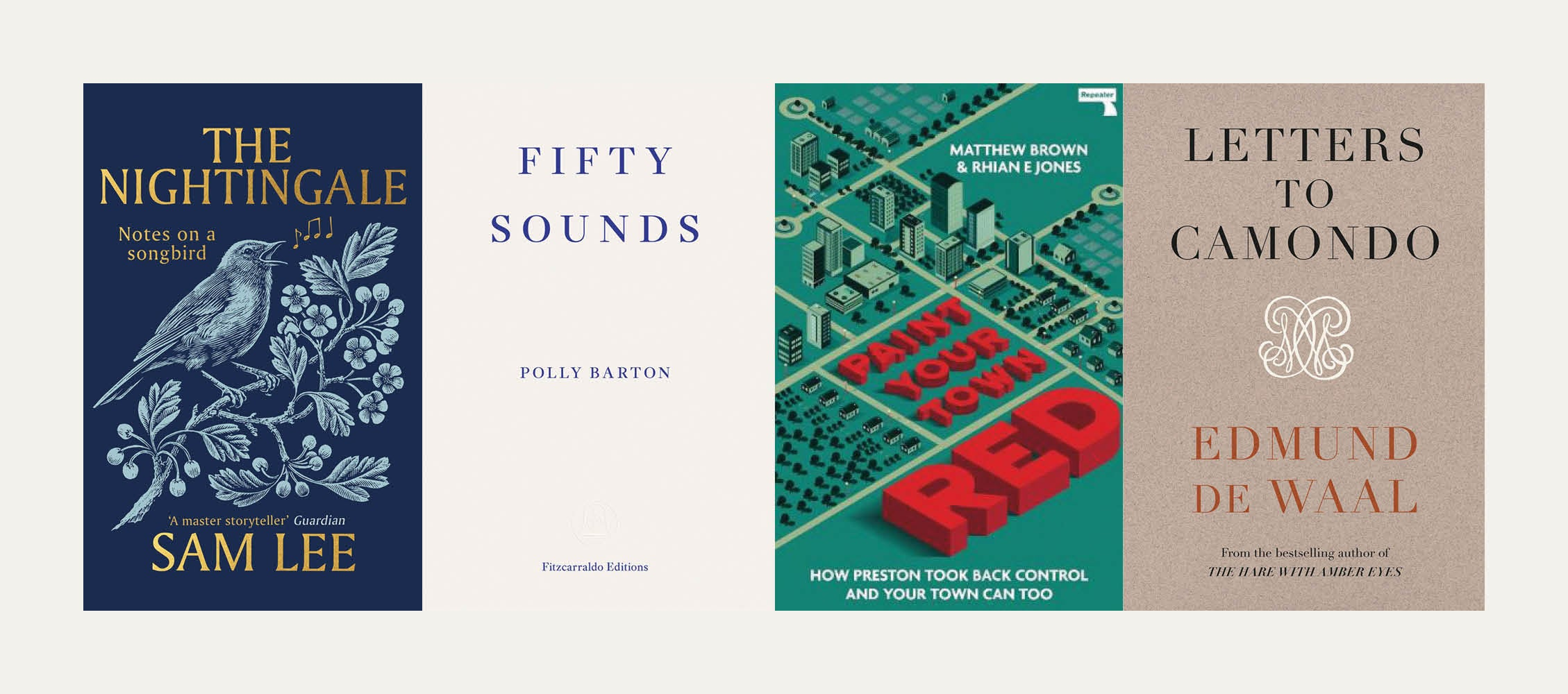 Reviewed in short: New books by Sam Lee, Edmund de Waal, Polly Barton and Matthew Brown and Rhian Jones