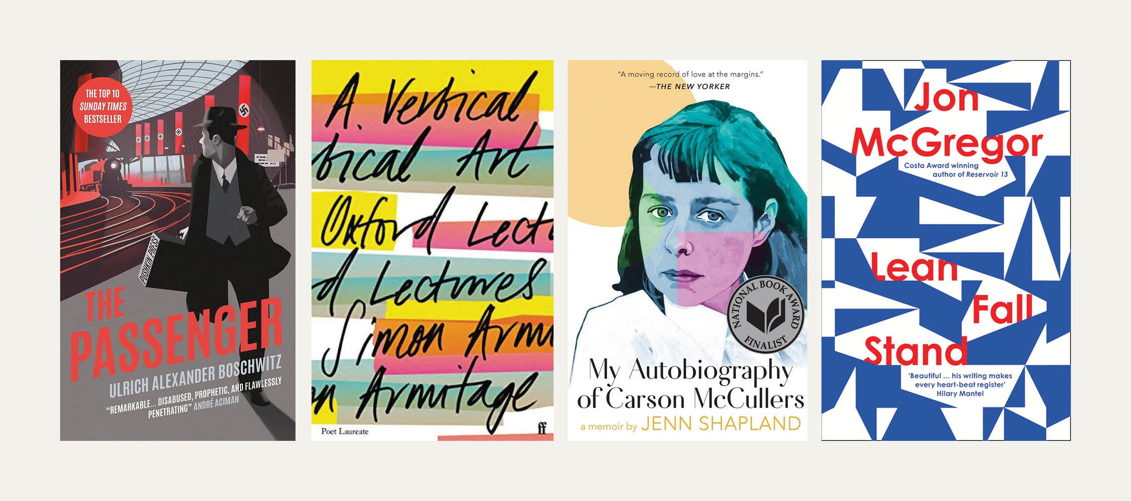 Reviewed in Short: New books by Jenn Shapland, Ulrich Alexander Boschwitz, Simon Armitage and Jon McGregor