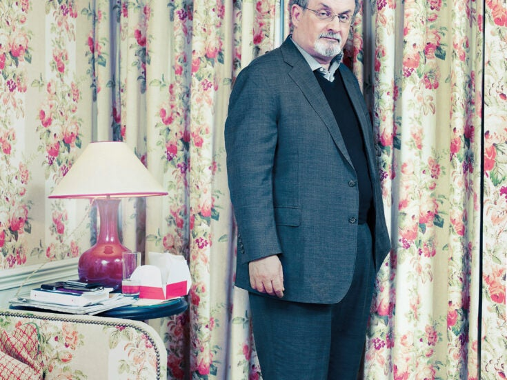 The paradoxes and platitudes of Salman Rushdie