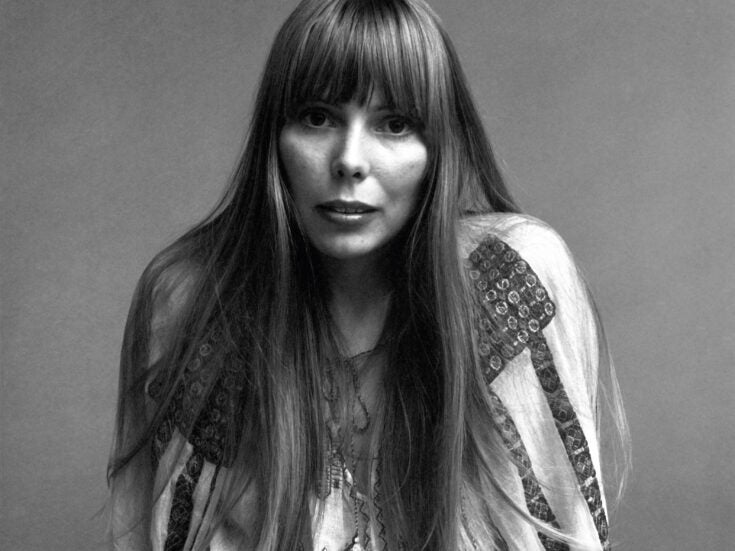 How Joni Mitchell's Blue became pop music's ultimate expression of loving and leaving