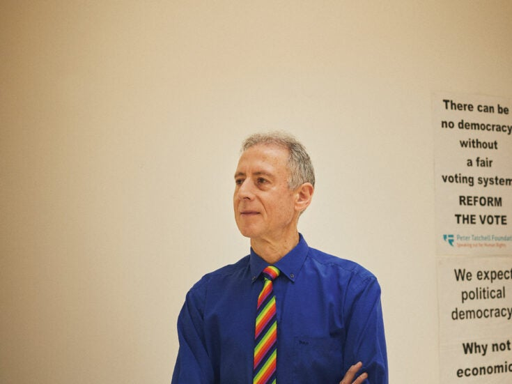 """Peter Tatchell: """"It's important the left doesn't resort to the methods of the right"""""""
