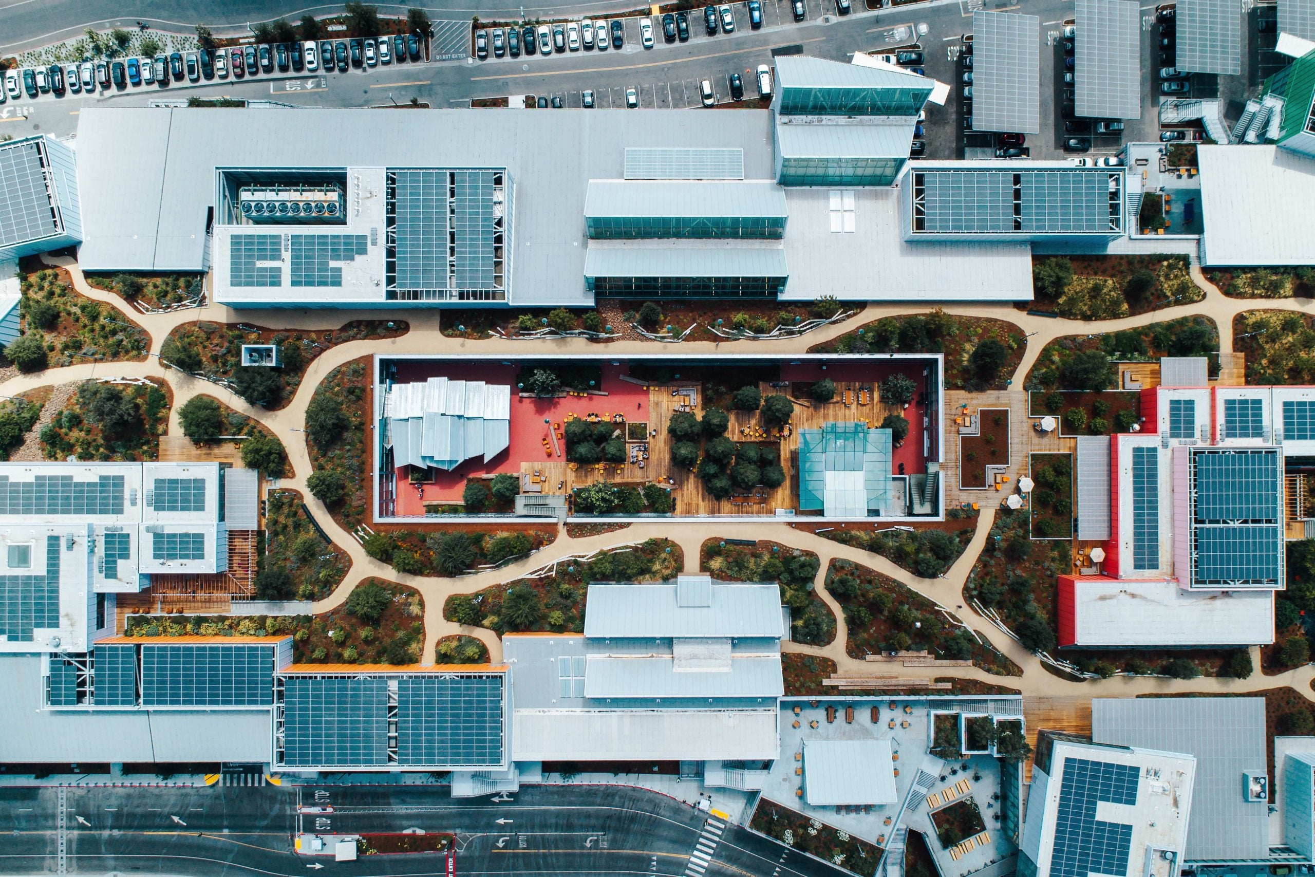 What Facebook's empty campus says about the post-Covid world