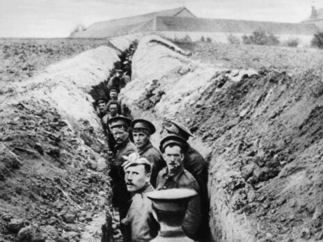 100 years since the first case of shell shock, it's time to prioritise mental health