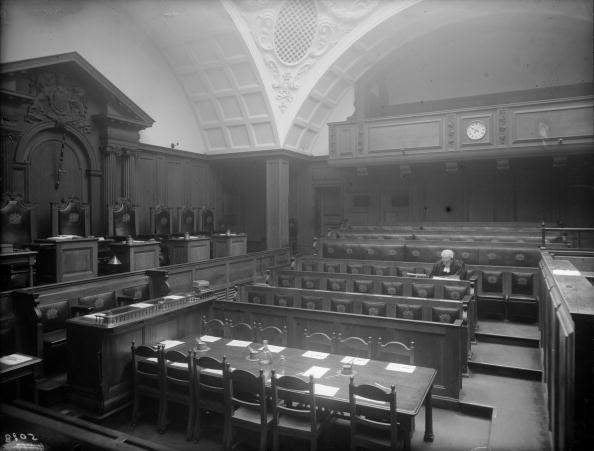 The decline of the British trial