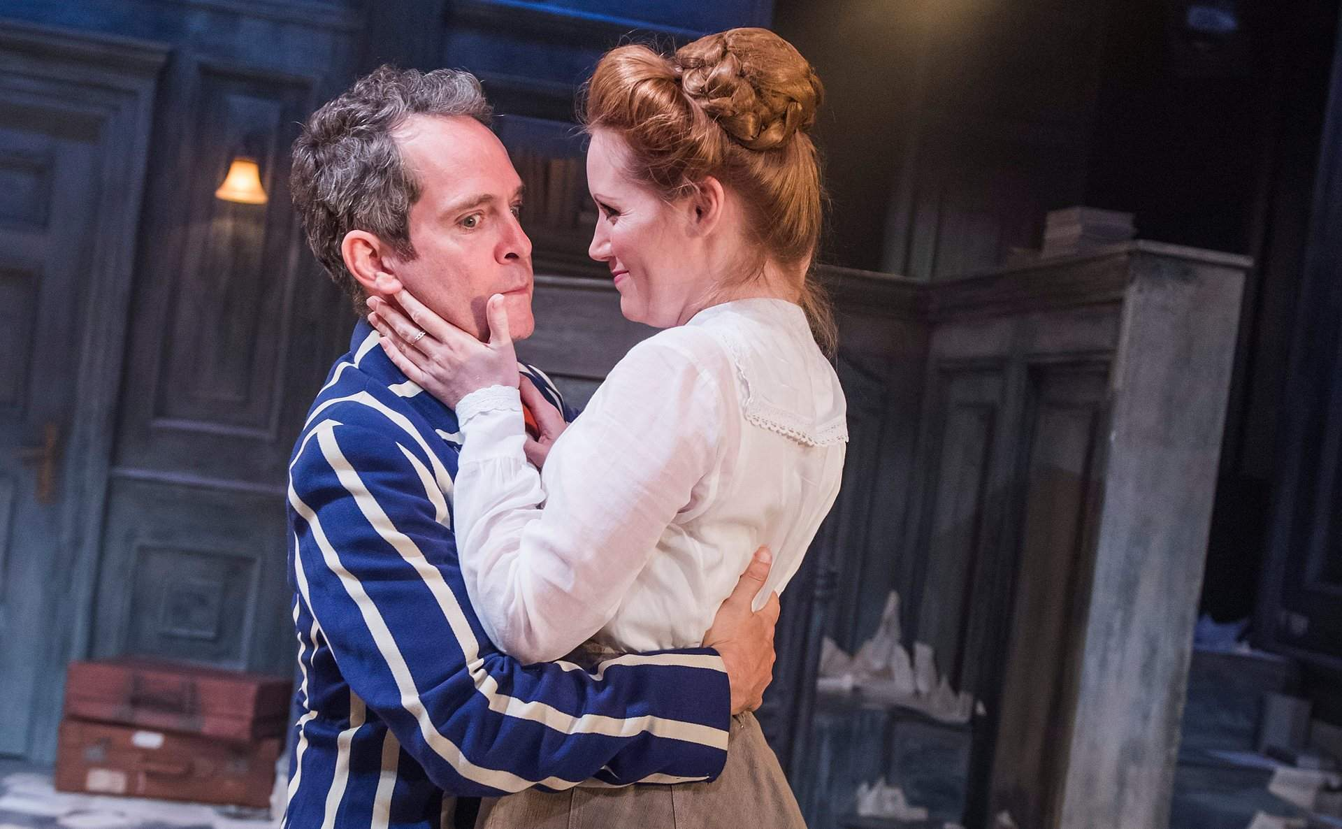 Patrick Marber's dynamic revival of Tom Stoppard's Travesties is anything but one