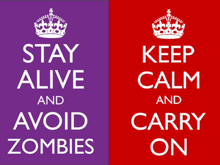 """""""Keep Calm and Carry On"""" conquered the world, but it was too mundane for World War II"""