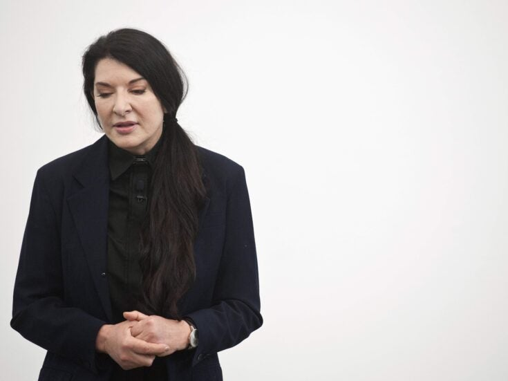 Marina Abramović's 512 Hours at the Serpentine shows the self-indulgent side of anti-materialism