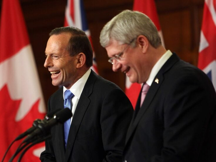 The world's worst climate change villains? Step forward, prime ministers of Australia and Canada